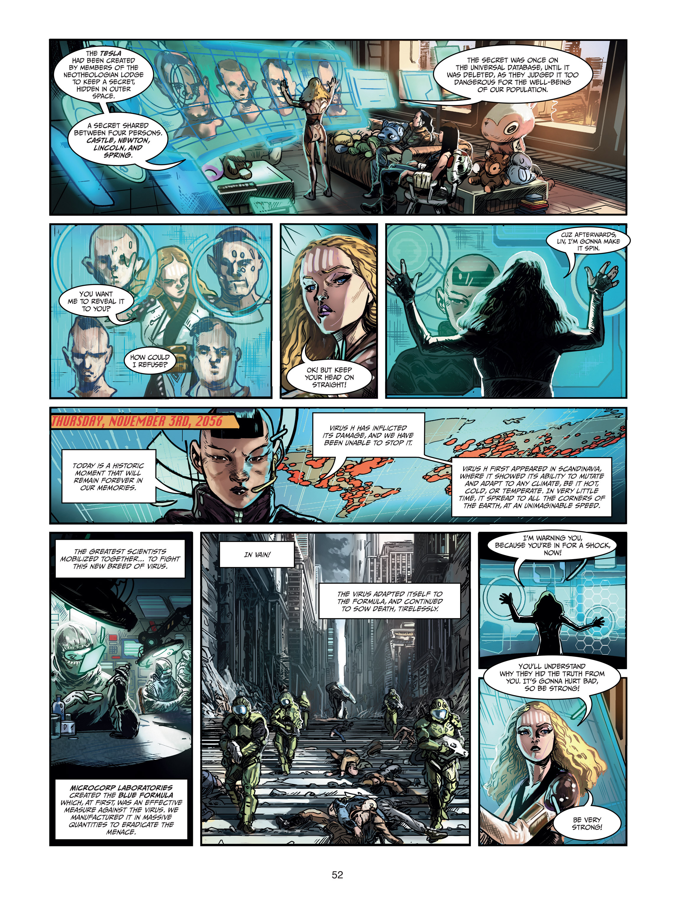 Read online Androïds comic -  Issue #1 - 50