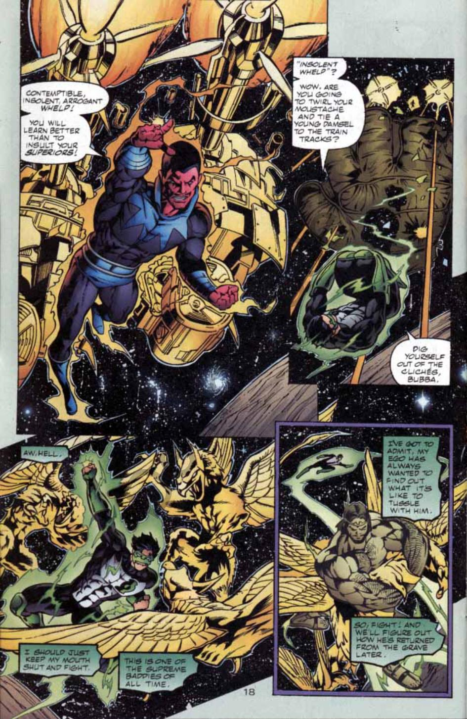 Read online Green Lantern: Our Worlds At War comic -  Issue # Full - 17