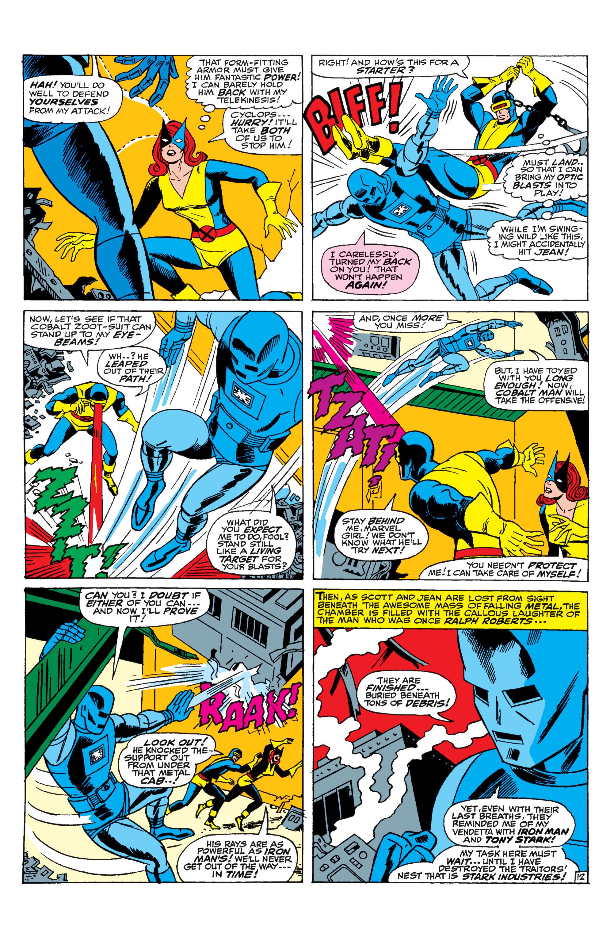 Read online Uncanny X-Men (1963) comic -  Issue #31 - 13