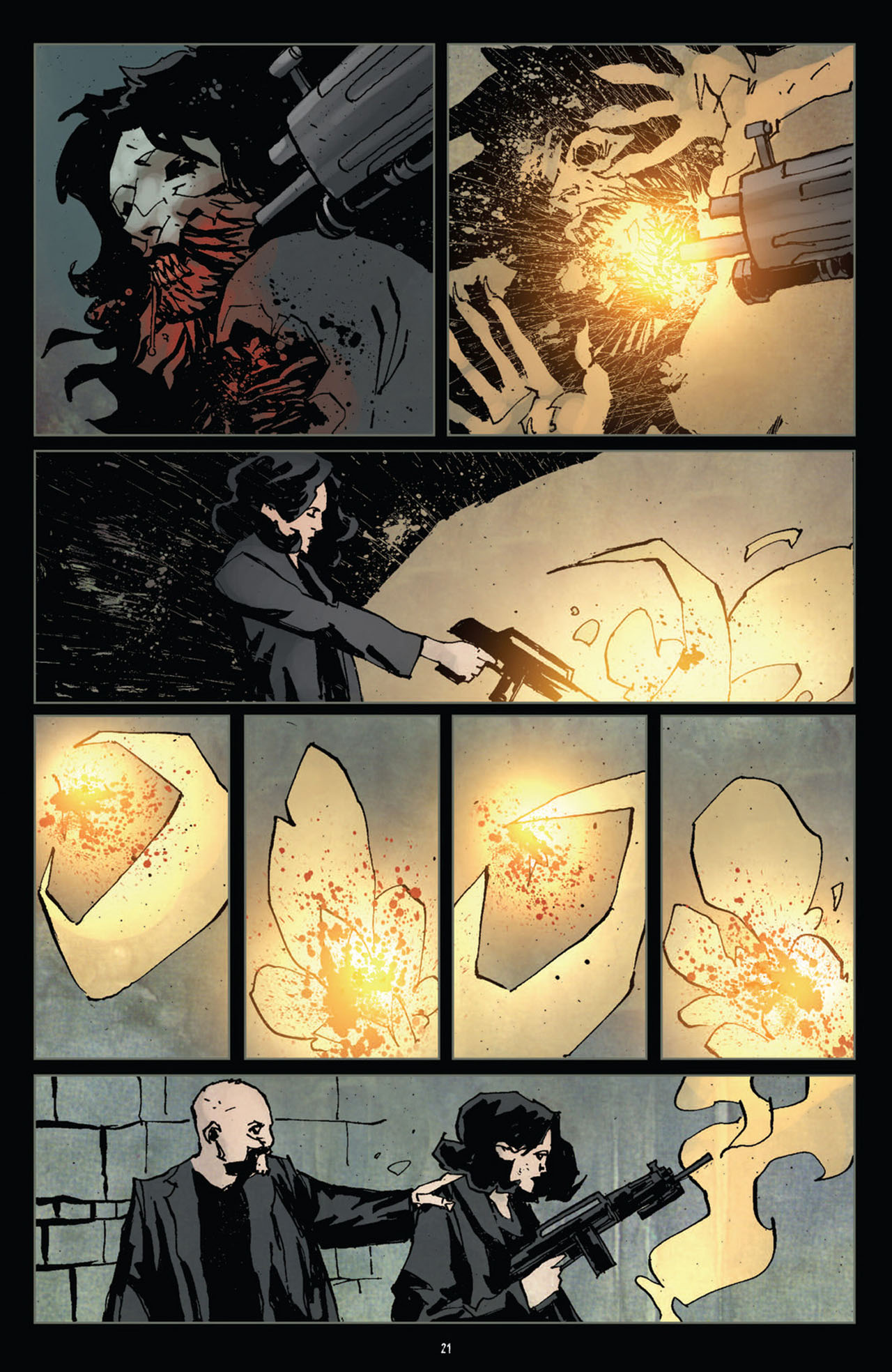Read online 30 Days of Night (2011) comic -  Issue #10 - 22