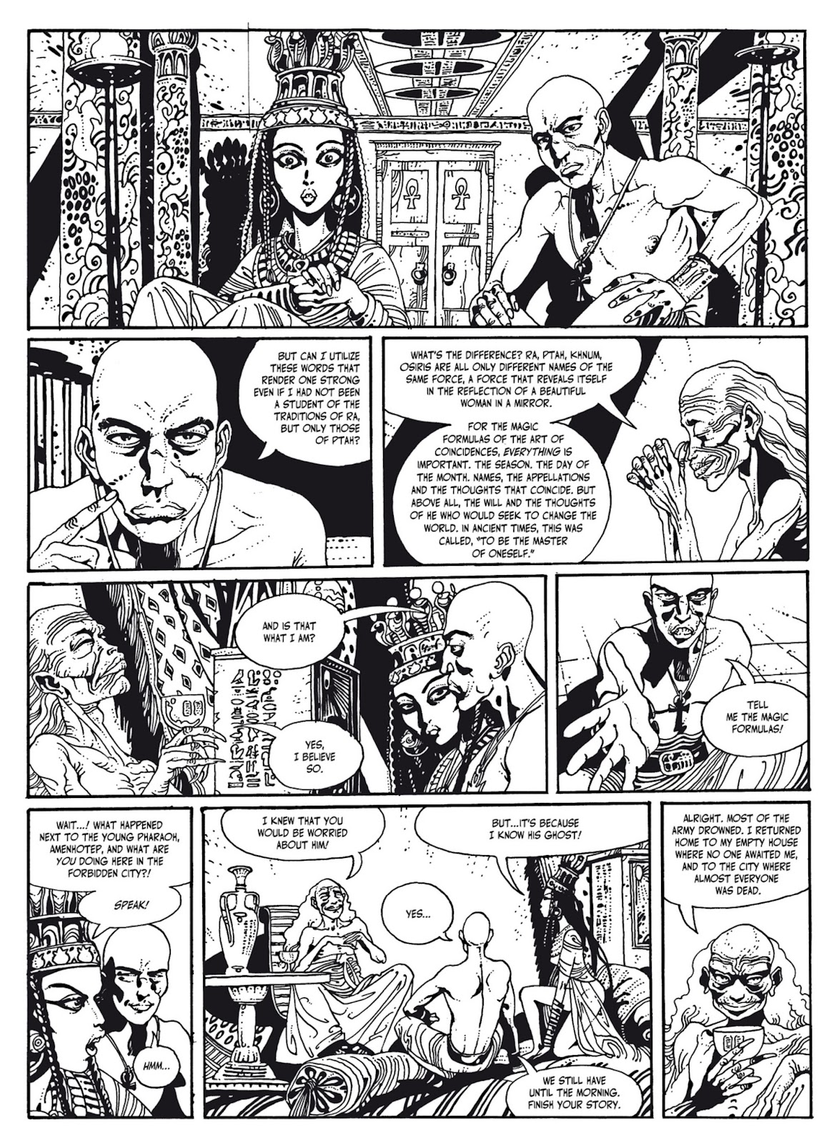 Read online The Egyptian Princesses comic -  Issue # TPB 1 (Part 2) - 96