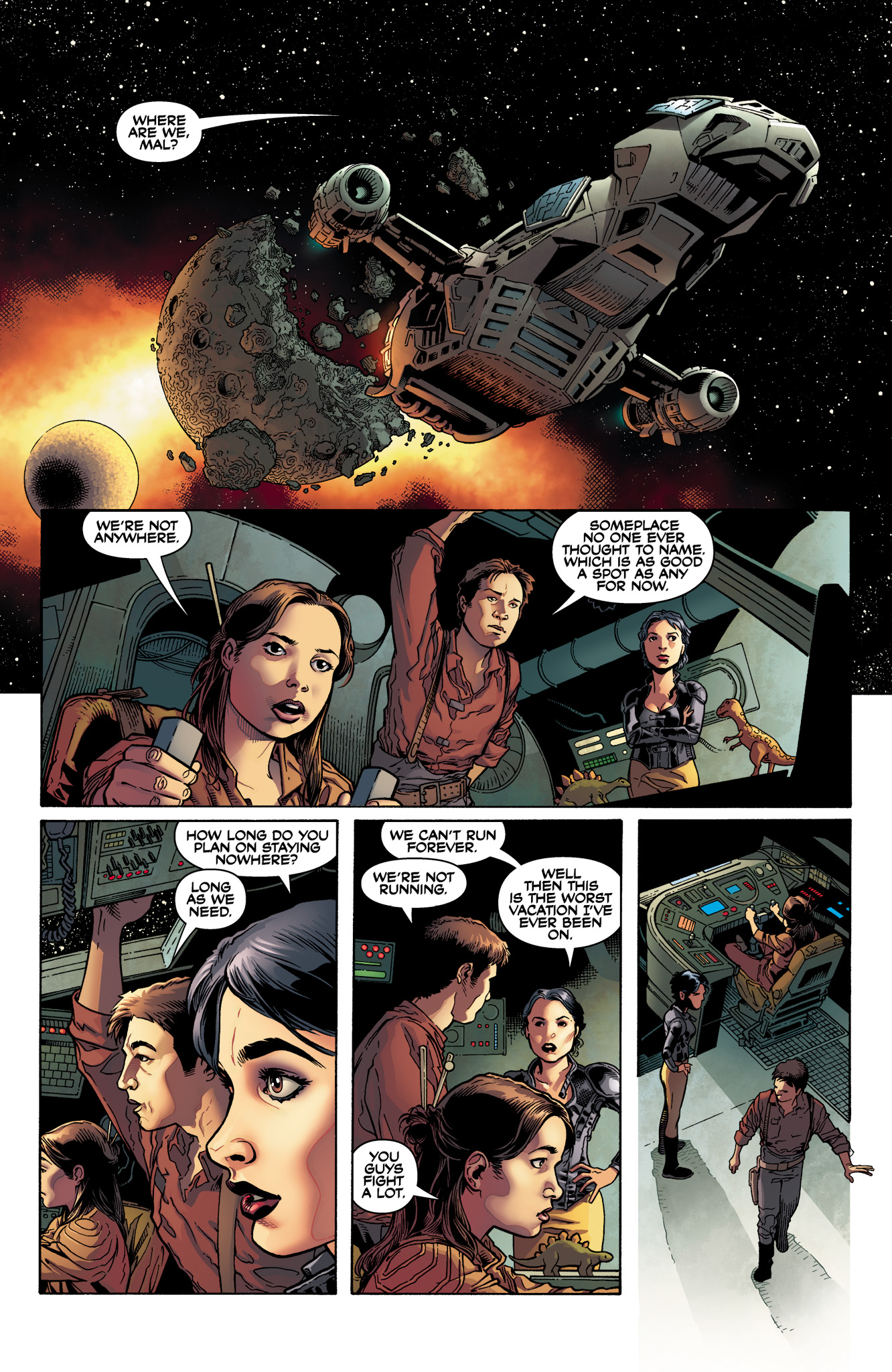 Read online Serenity: Firefly Class 03-K64  Leaves on the Wind comic -  Issue #1 - 11