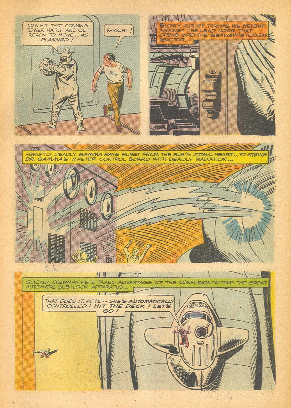 Voyage to the Bottom of the Sea issue 1 - Page 31