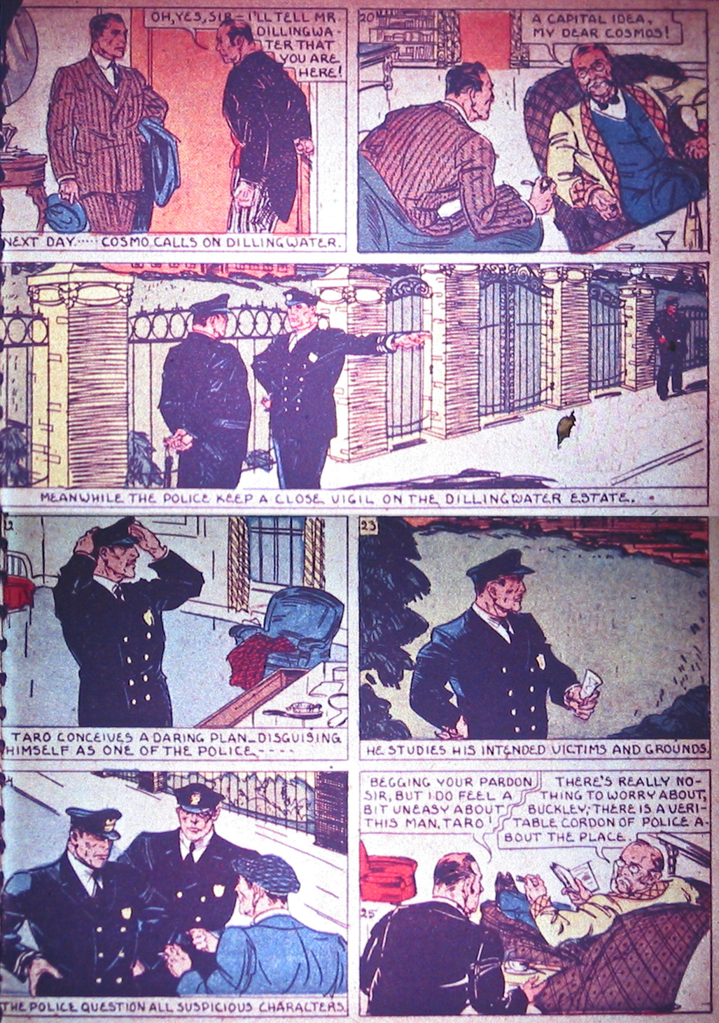 Read online Detective Comics (1937) comic -  Issue #1 - 14