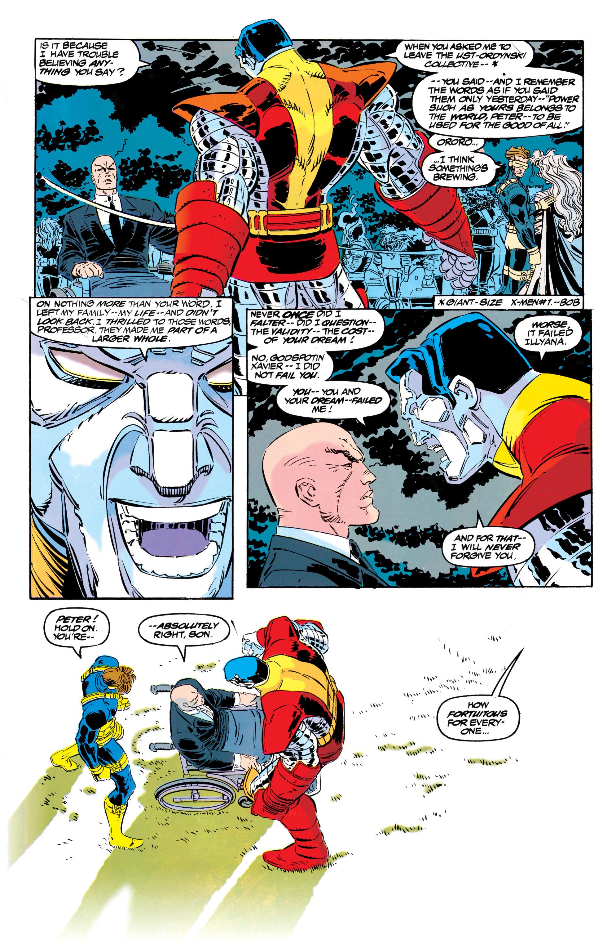 Read online Uncanny X-Men (1963) comic -  Issue #304 - 25