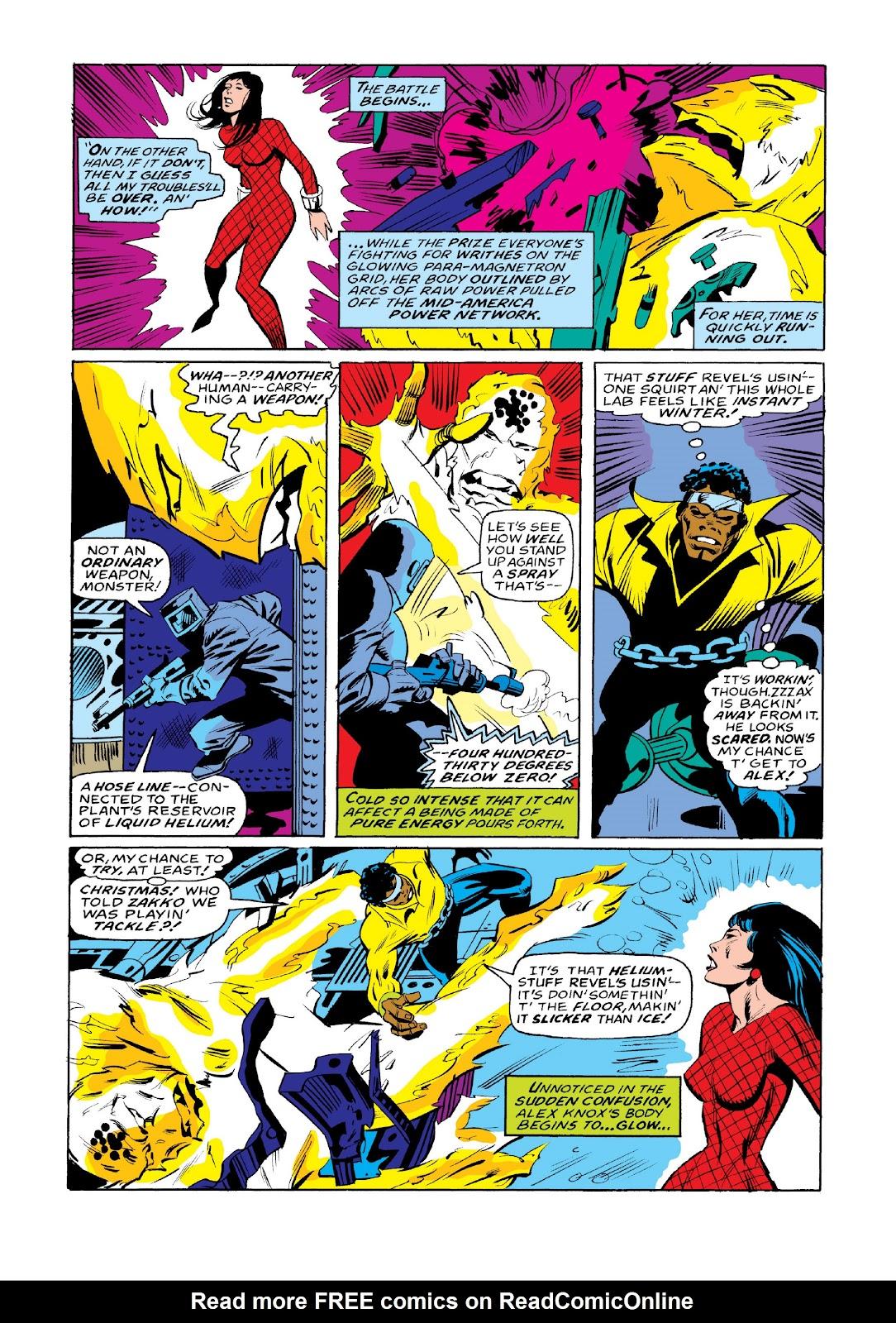 Read online Marvel Masterworks: Luke Cage, Power Man comic -  Issue # TPB 3 (Part 3) - 114