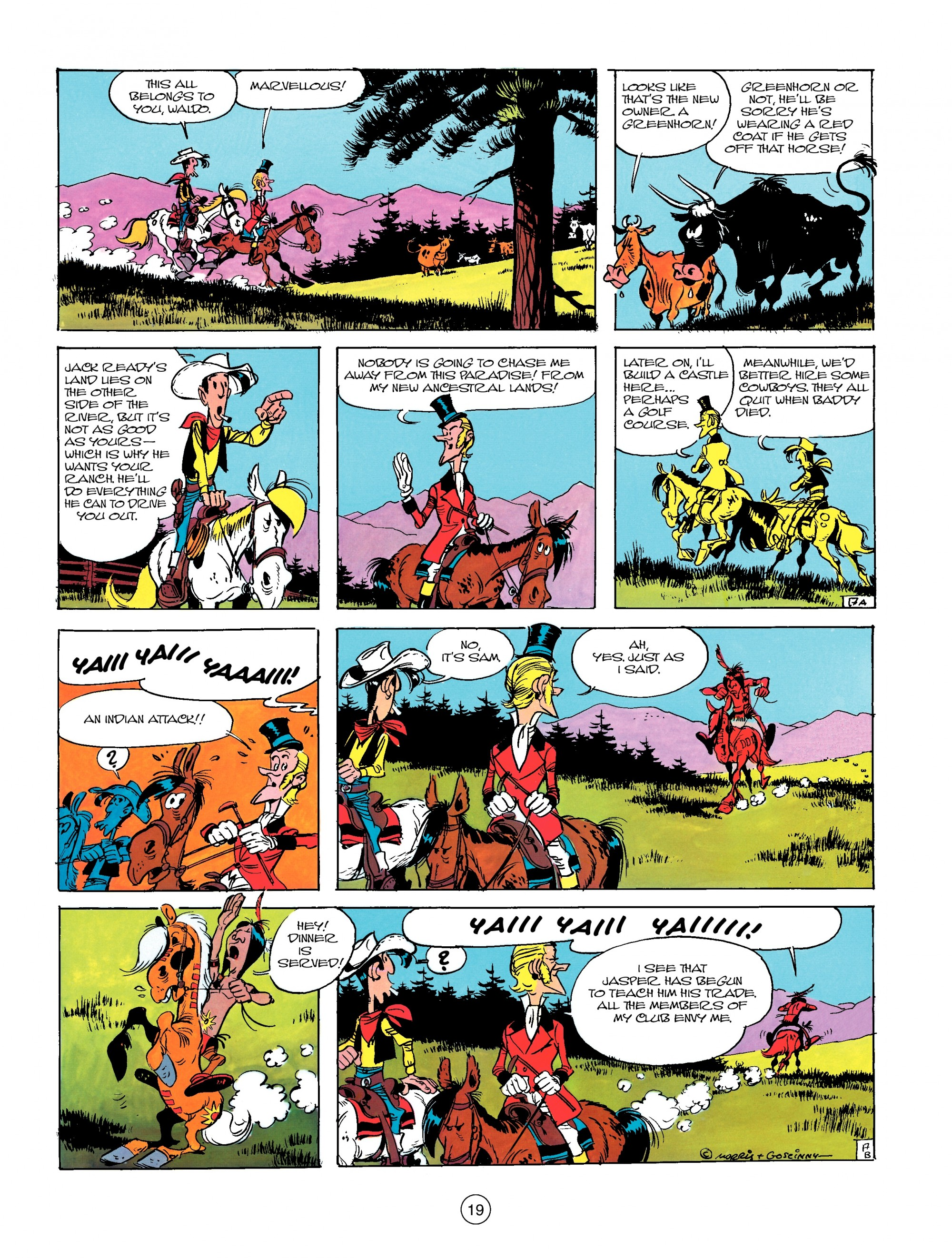 Read online A Lucky Luke Adventure comic -  Issue #13 - 19
