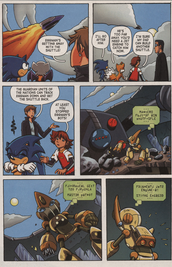 Read online Sonic X comic -  Issue #9 - 28