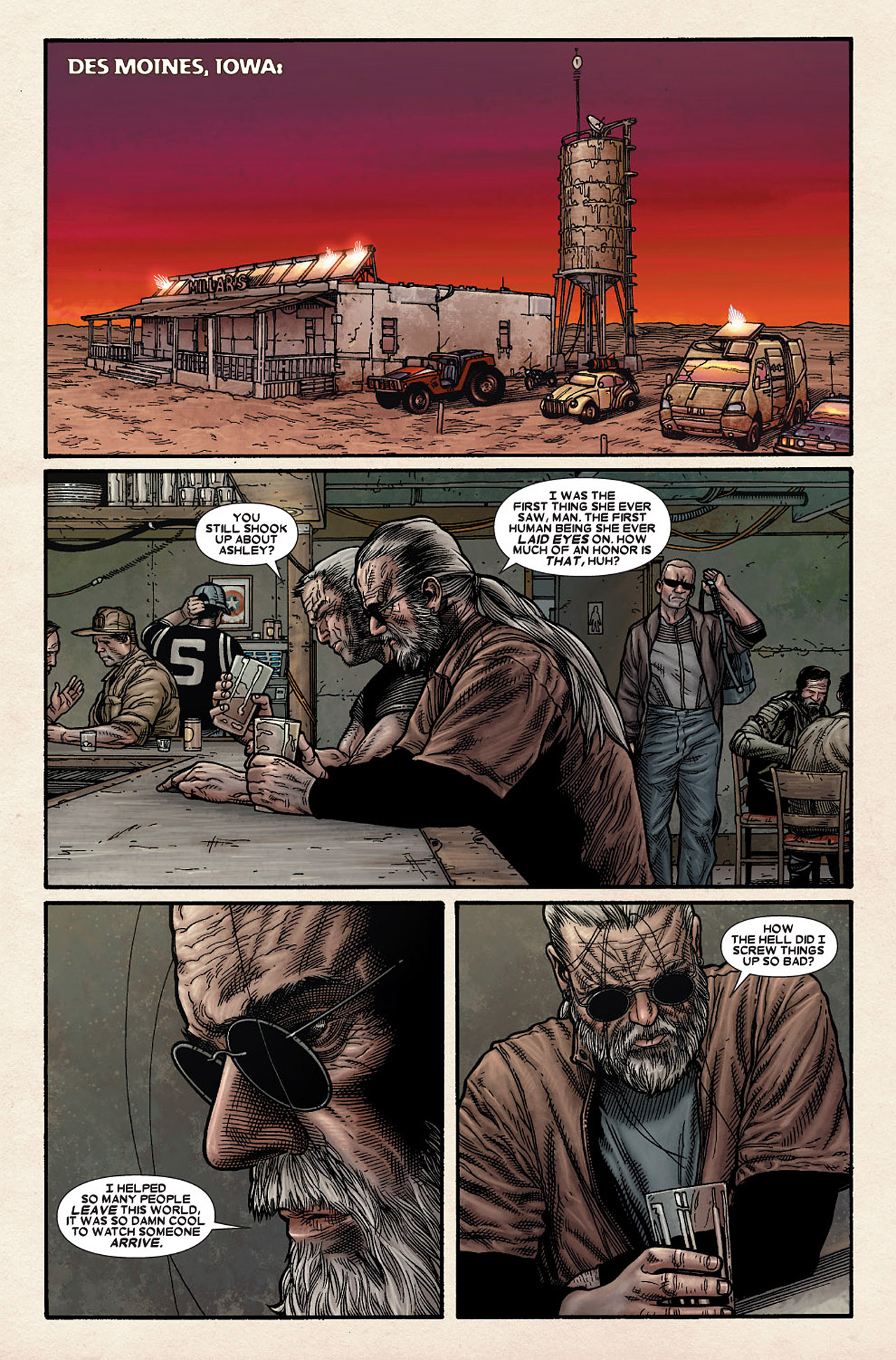 Read online Wolverine: Old Man Logan comic -  Issue # Full - 86