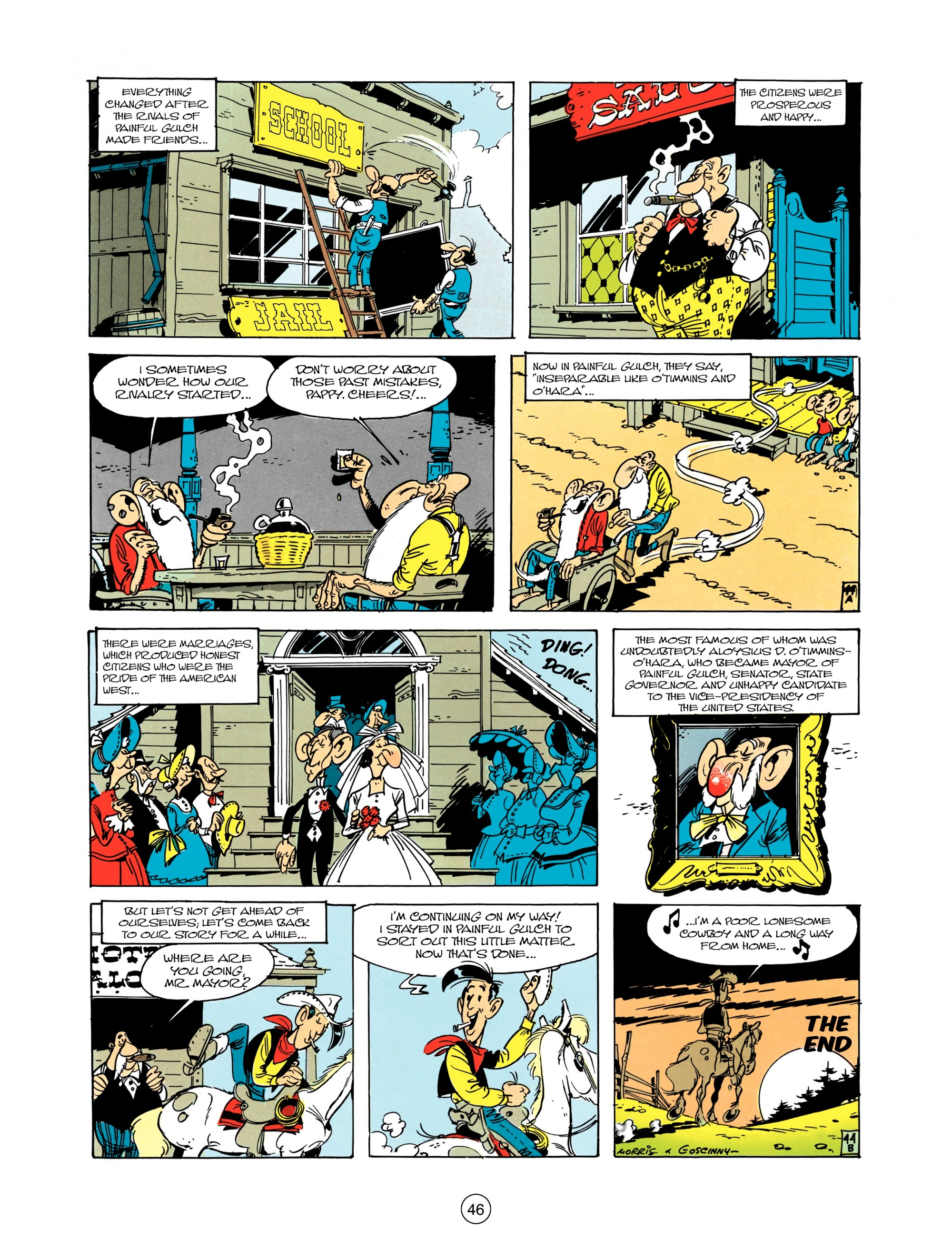 Read online A Lucky Luke Adventure comic -  Issue #12 - 46