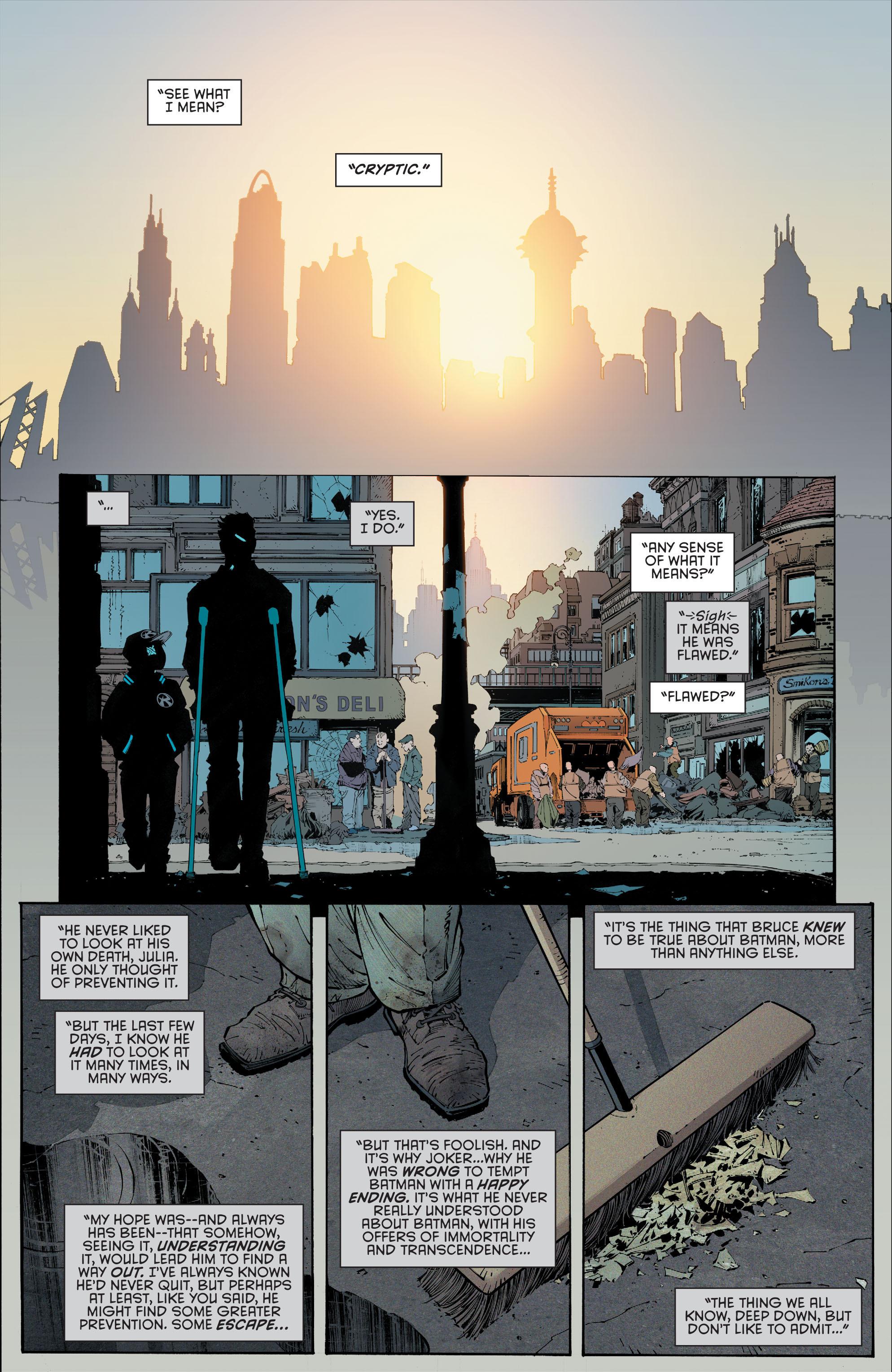 Read online Batman (2011) comic -  Issue # _TPB 7 - 147
