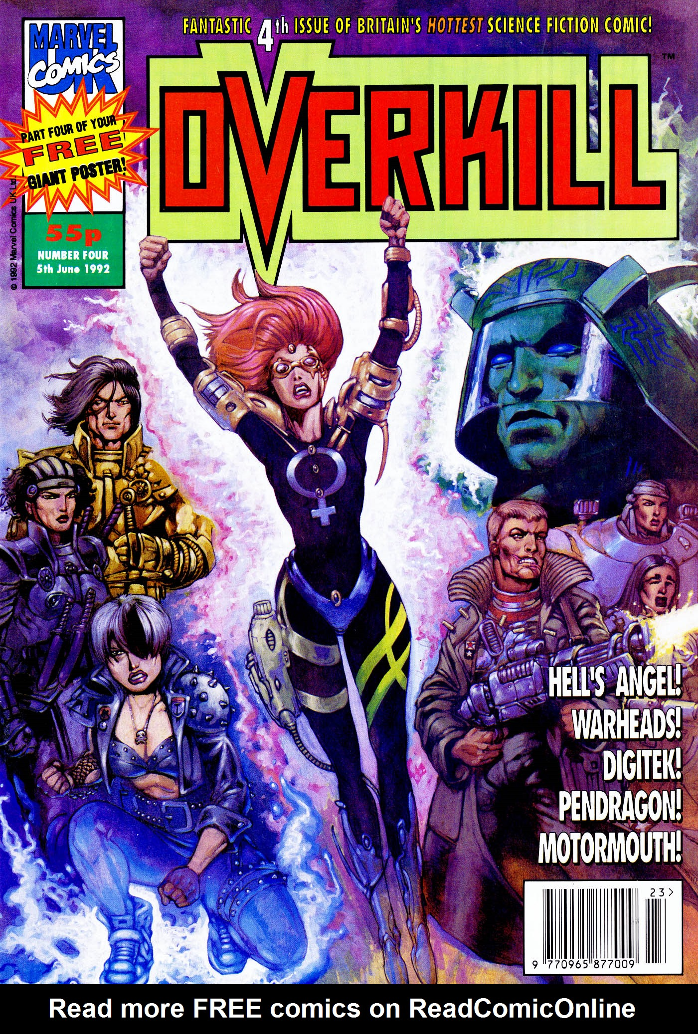 Read online Overkill comic -  Issue #4 - 1