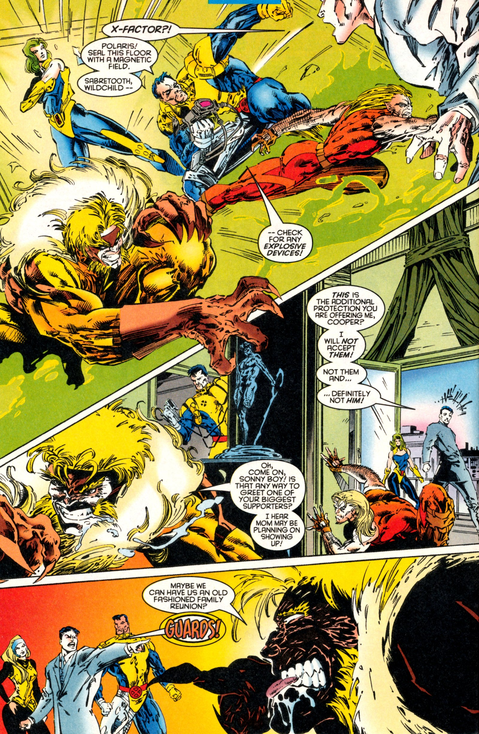 Read online X-Factor (1986) comic -  Issue #130 - 8