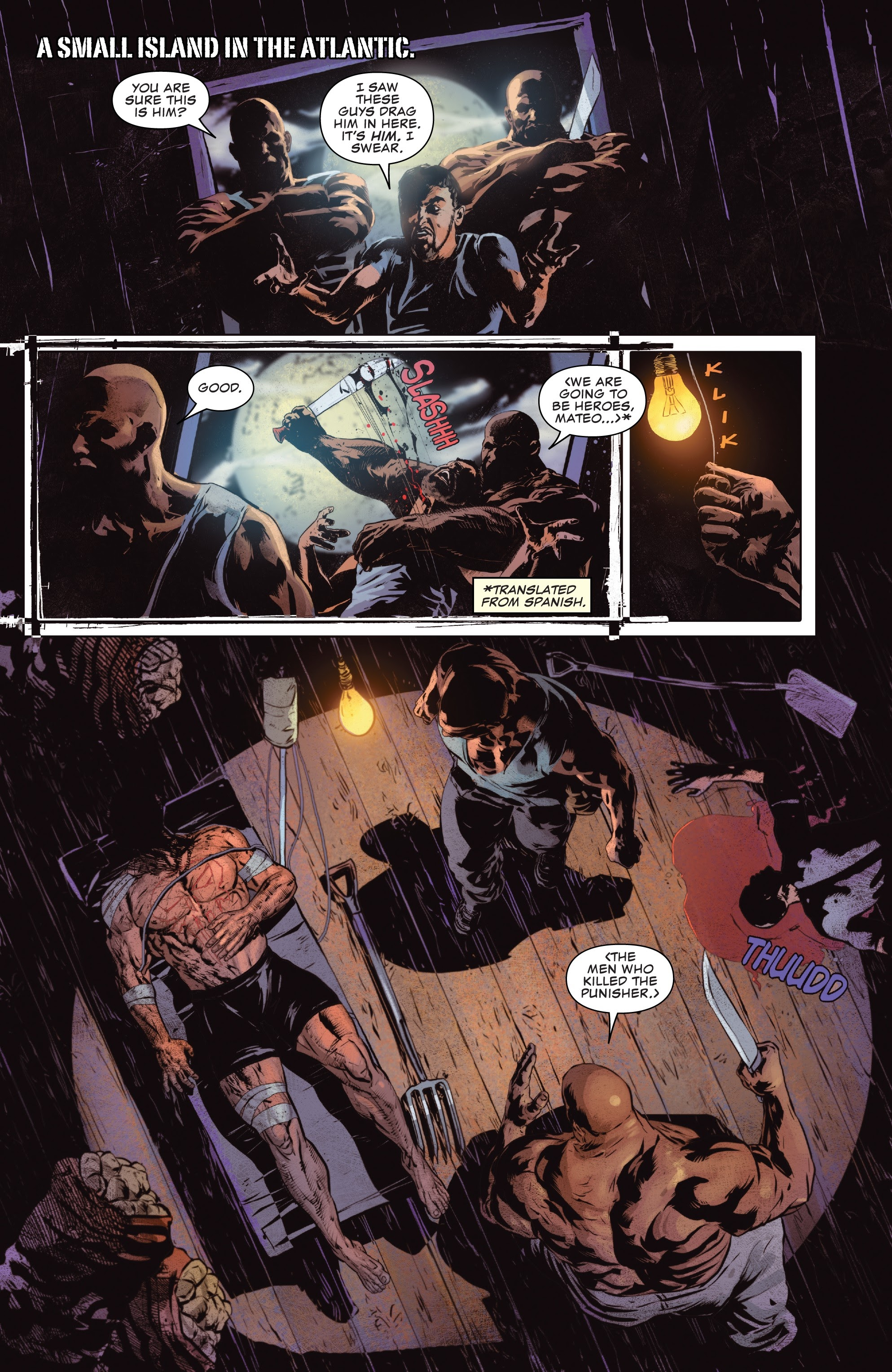 Read online The Punisher (2018) comic -  Issue #12 - 3