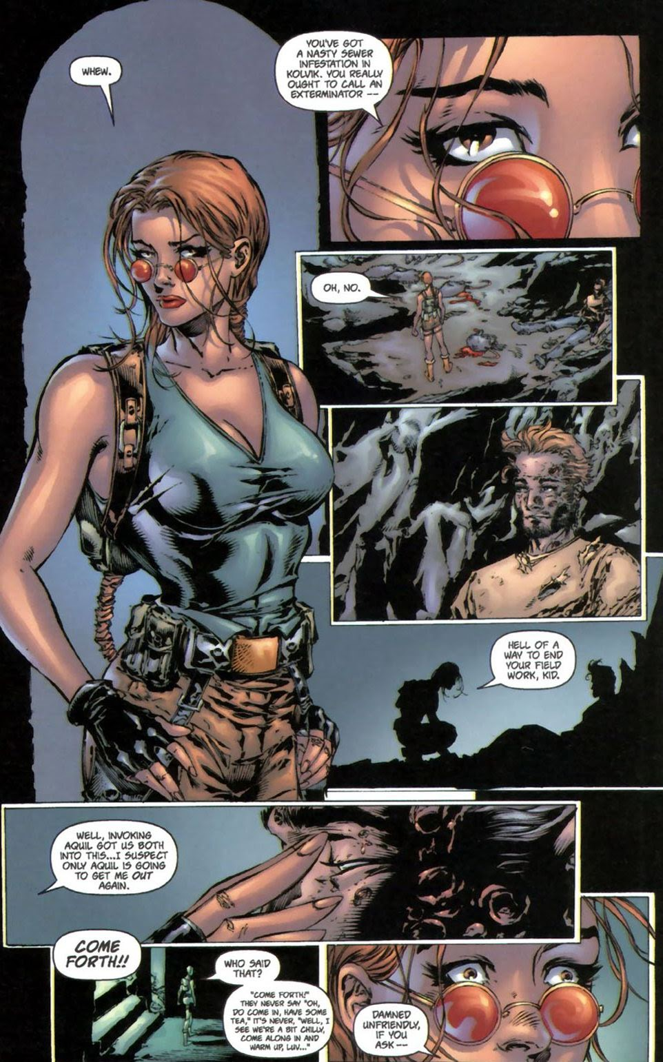Read online Tomb Raider: The Series comic -  Issue #0 - 11