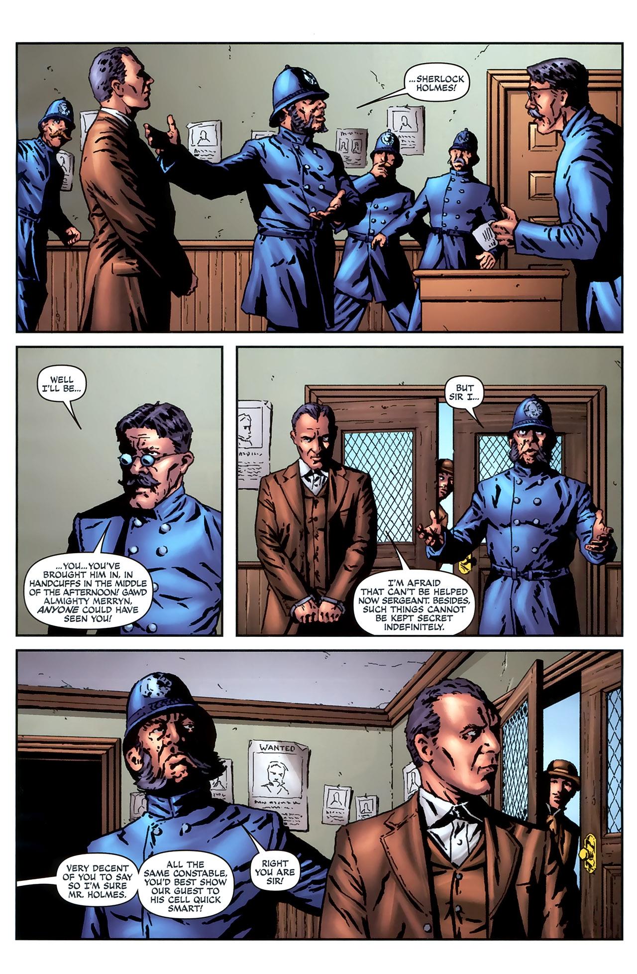 Read online Sherlock Holmes (2009) comic -  Issue #4 - 13