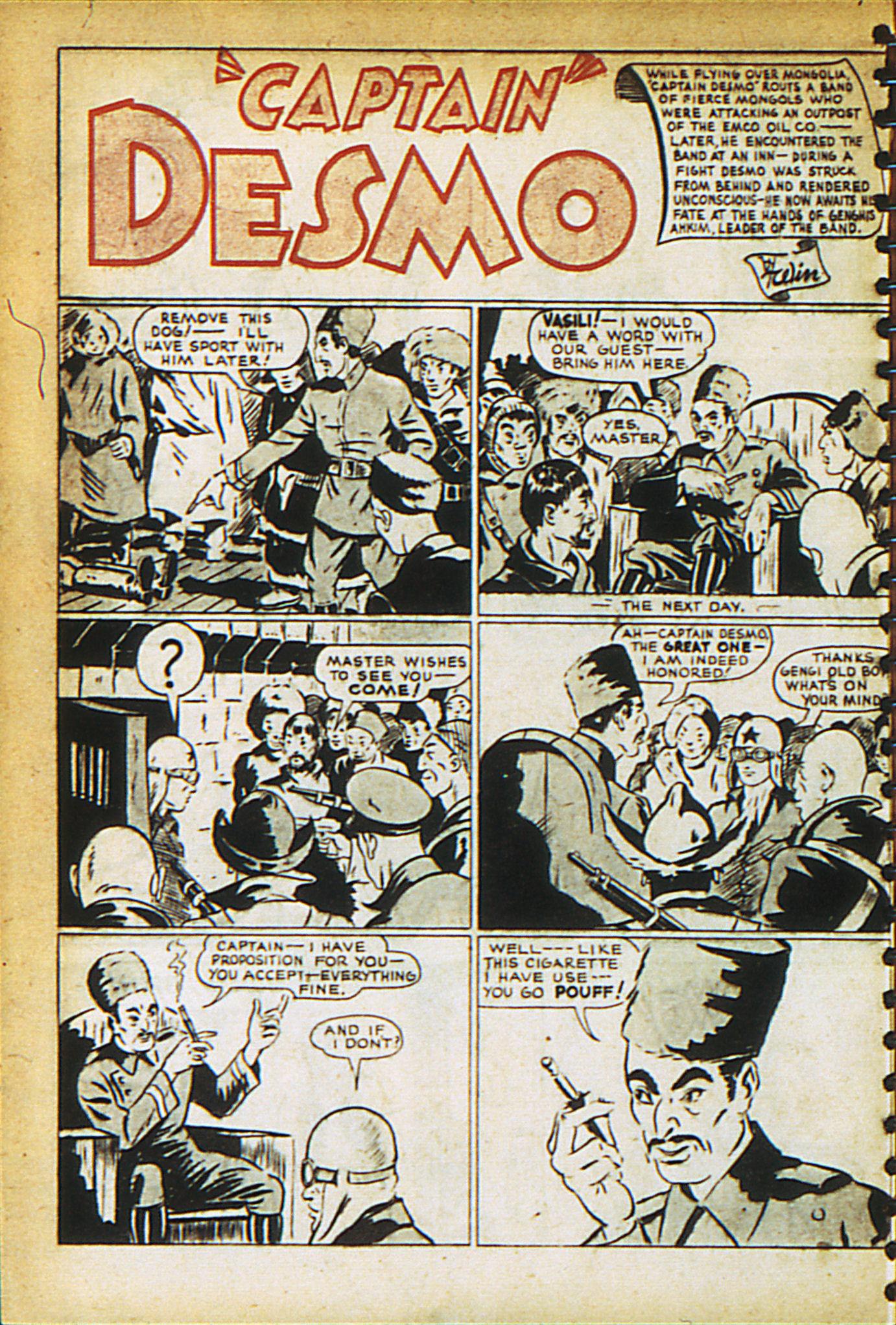 Read online Adventure Comics (1938) comic -  Issue #27 - 28