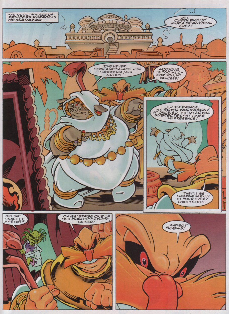 Read online Sonic the Comic comic -  Issue #164 - 2