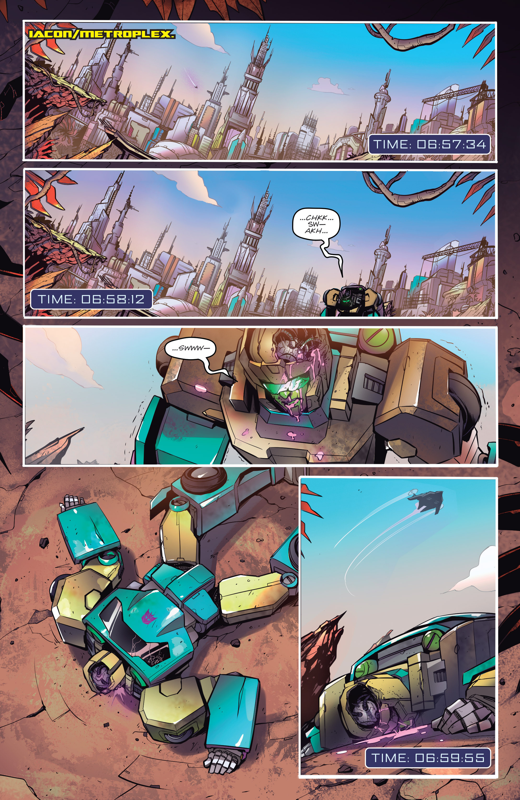 Read online Transformers: Till All Are One comic -  Issue #1 - 3