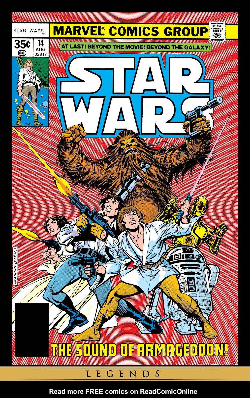 Read online Star Wars Legends: The Original Marvel Years - Epic Collection comic -  Issue # TPB 1 (Part 3) - 44
