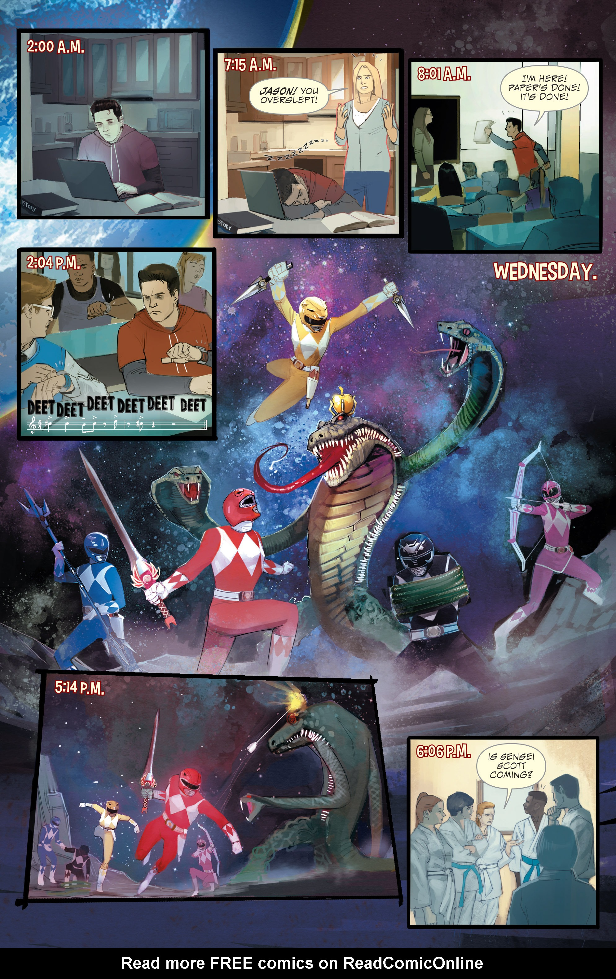 Read online Mighty Morphin Power Rangers comic -  Issue # _Annual 1 - 5
