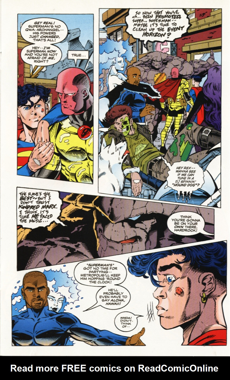 Read online Superboy & The Ravers comic -  Issue #9 - 10