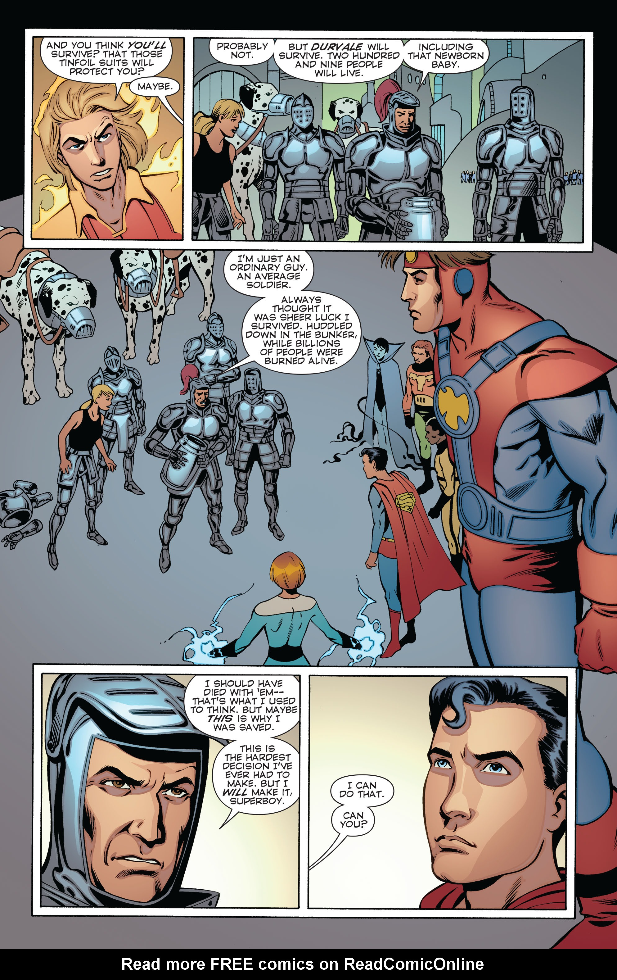 Read online Convergence Superboy and the Legion of Super-Heroes comic -  Issue #2 - 16
