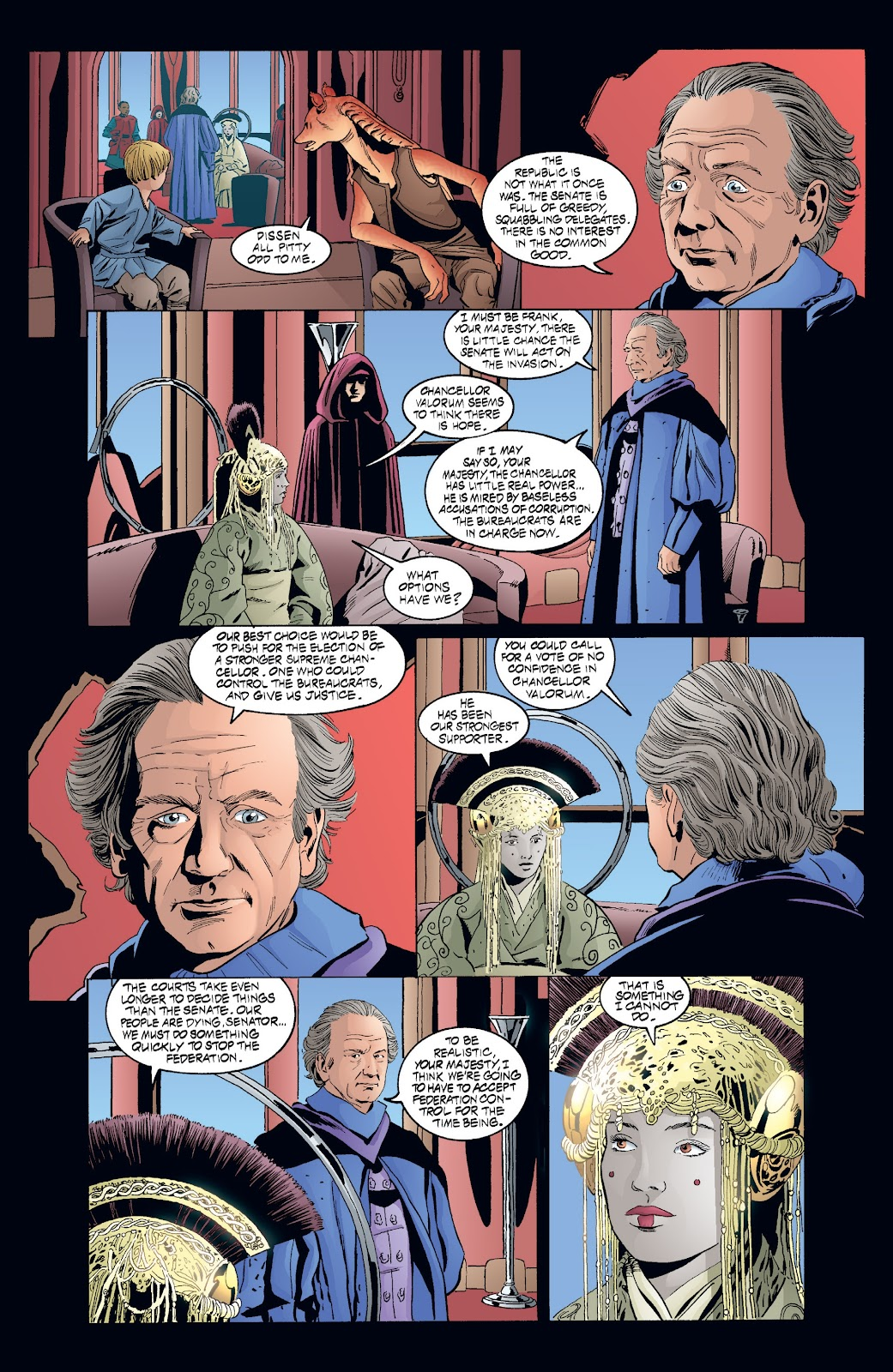 Read online Star Wars Legends: Rise of the Sith - Epic Collection comic -  Issue # TPB 2 (Part 4) - 1