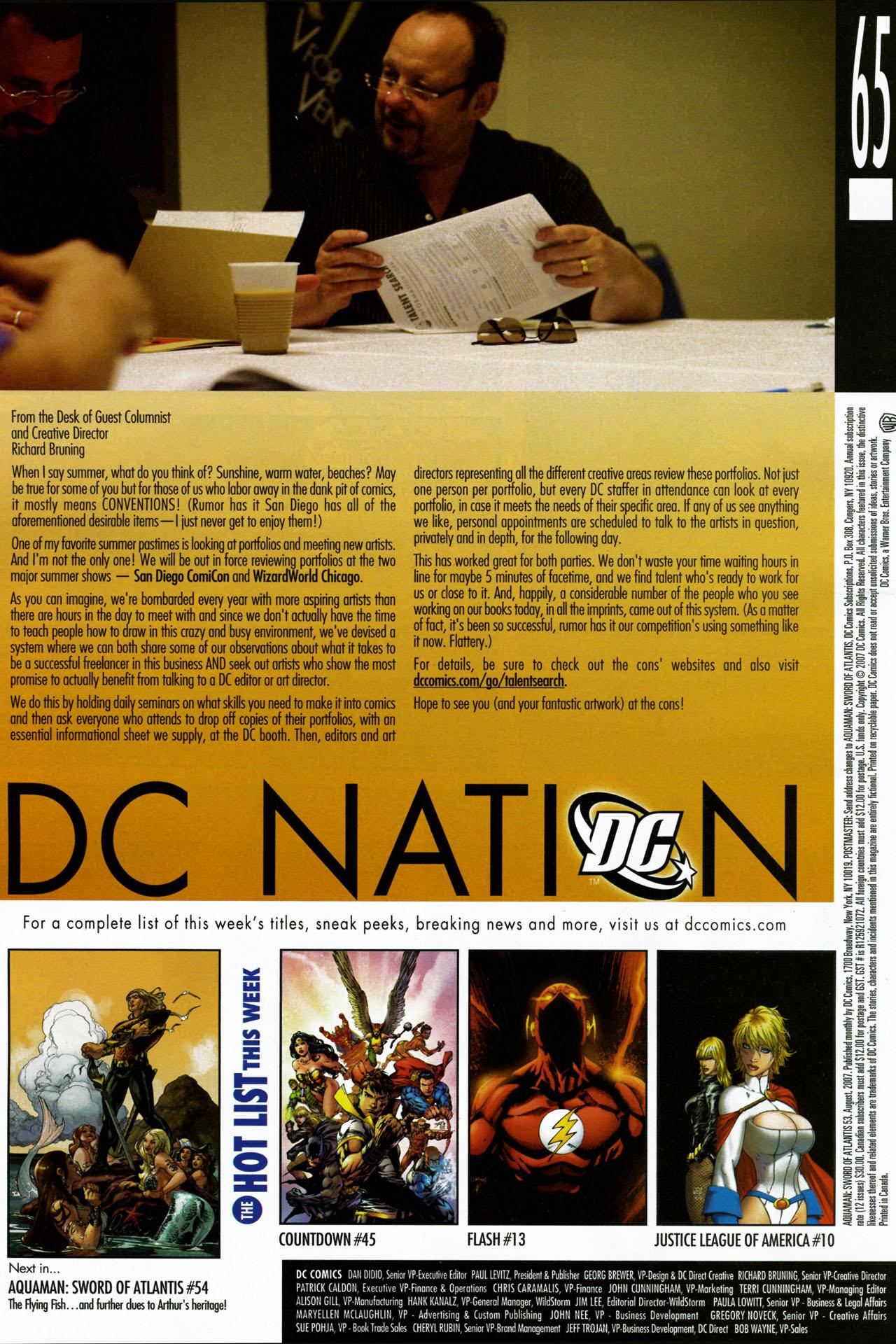 Read online Aquaman: Sword of Atlantis comic -  Issue #53 - 23