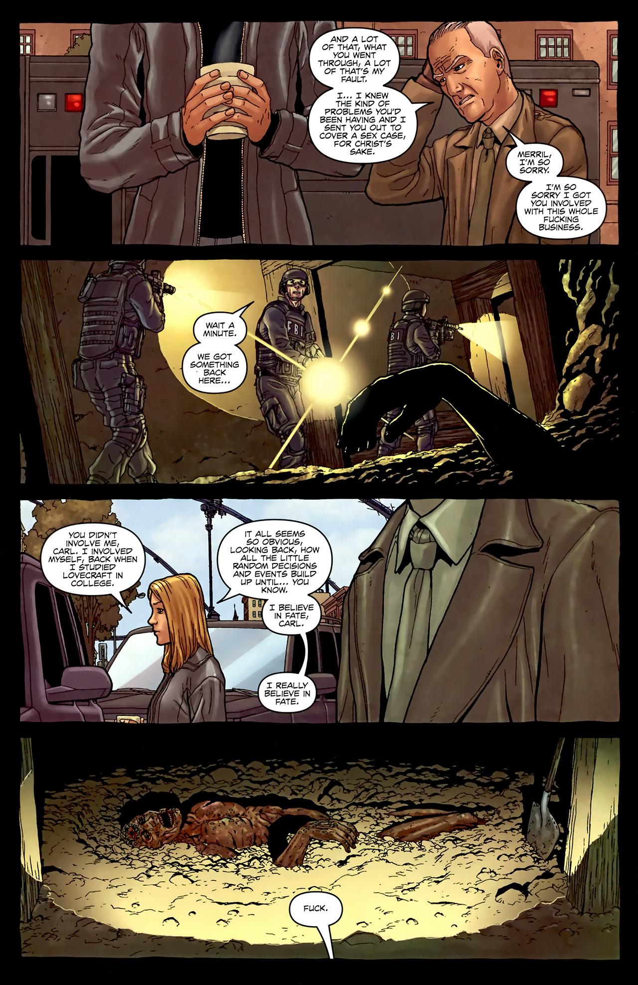 Read online Alan Moore's Neonomicon comic -  Issue #4 - 12