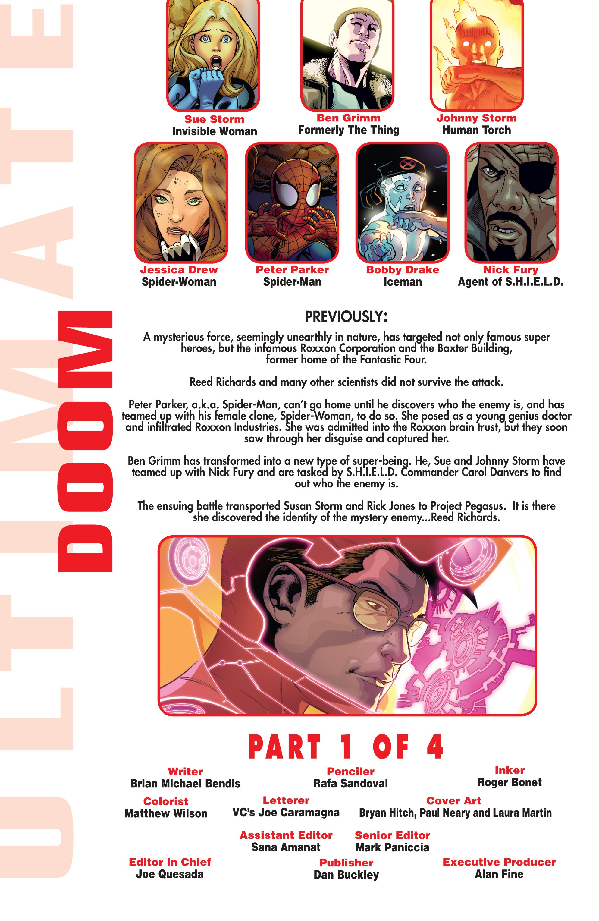 Read online Ultimate Comics Doomsday comic -  Issue # Full - 167
