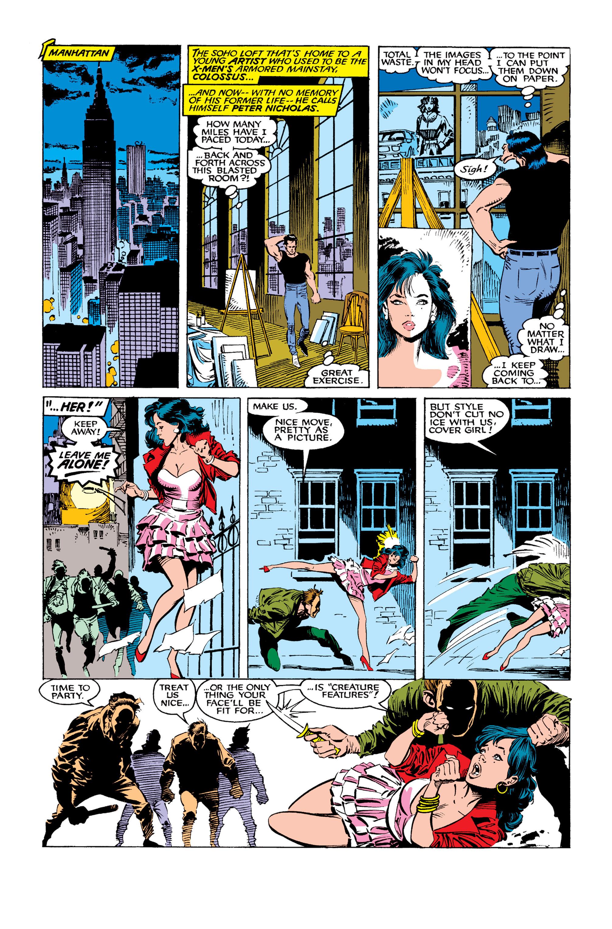 Read online Uncanny X-Men (1963) comic -  Issue #260 - 10