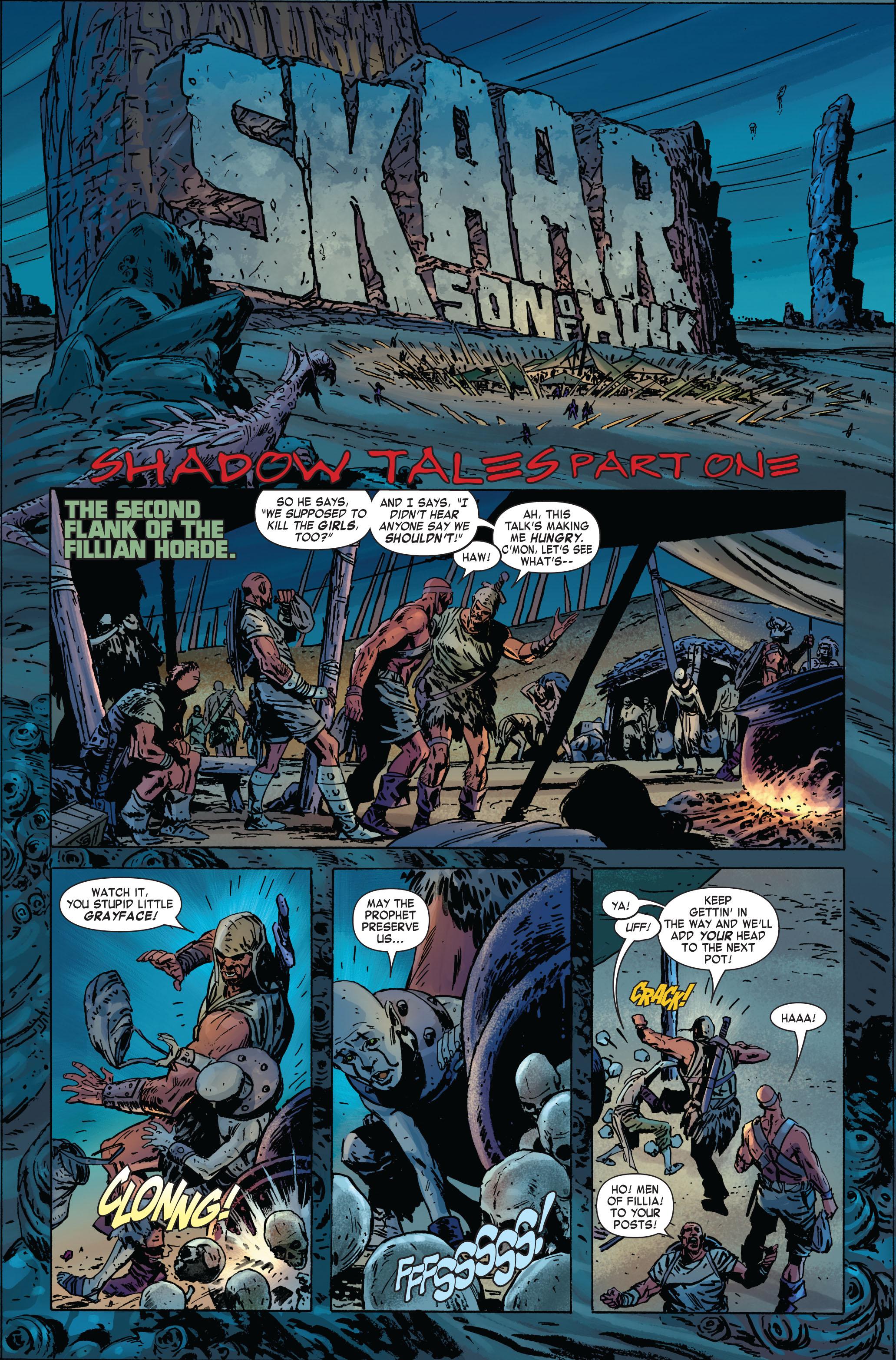 Read online Skaar: Son of Hulk comic -  Issue #2 - 17
