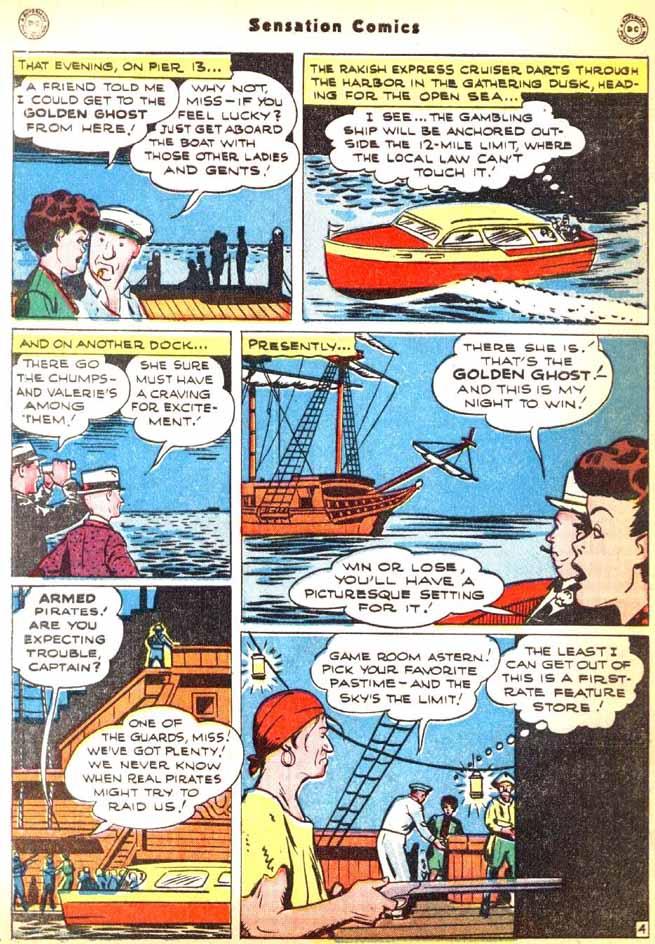 Read online Sensation (Mystery) Comics comic -  Issue #92 - 42