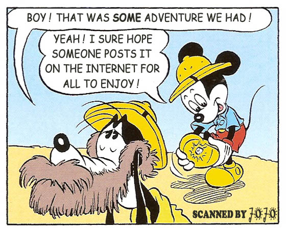 Read online Mickey Mouse (2011) comic -  Issue #305 - 29