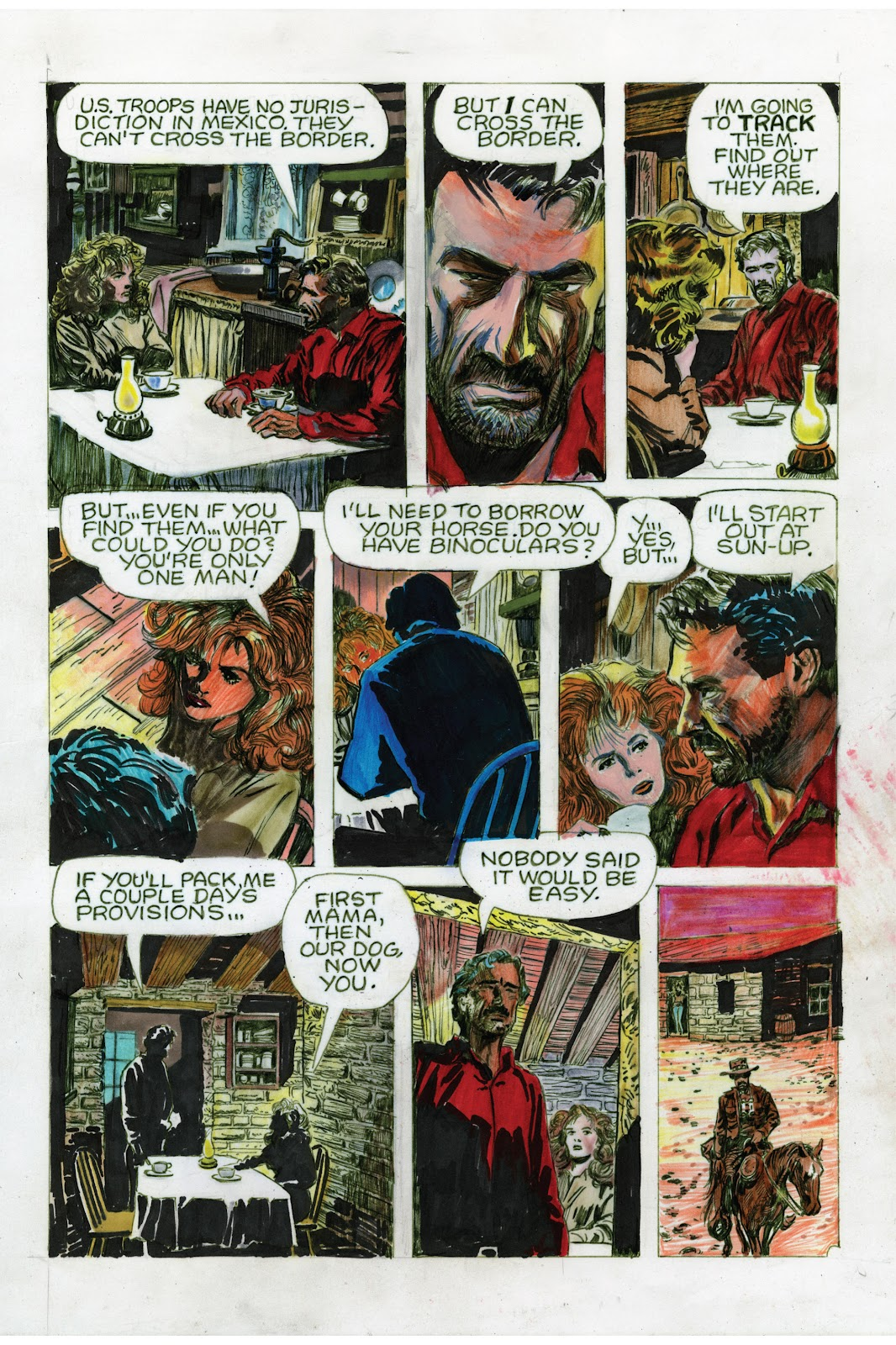 Read online Doug Wildey's Rio: The Complete Saga comic -  Issue # TPB (Part 3) - 54