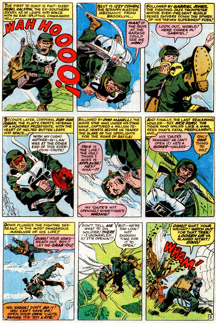 Read online Sgt. Fury comic -  Issue # _Special 5 - 7