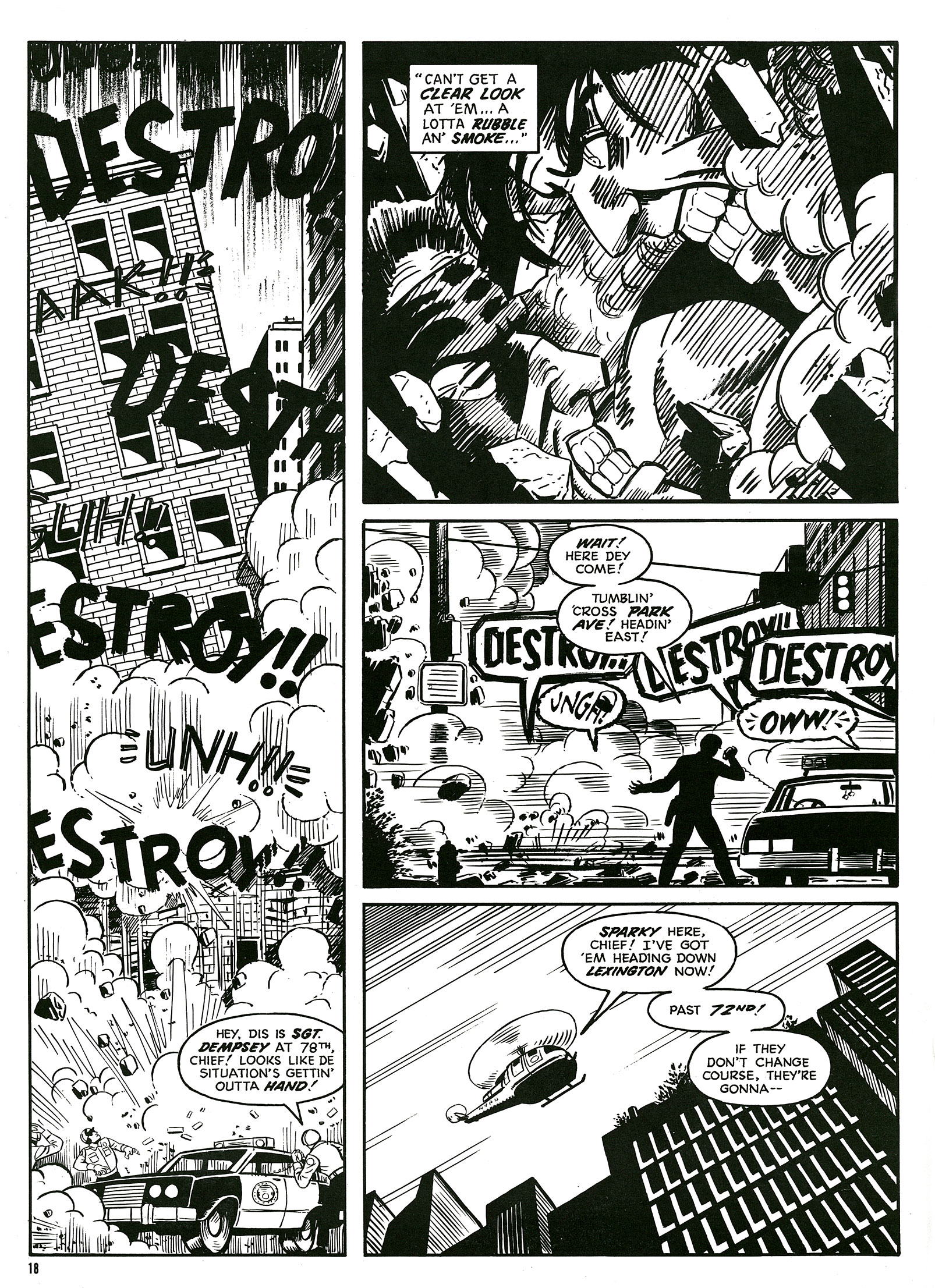 Read online Destroy!! comic -  Issue # Full - 20