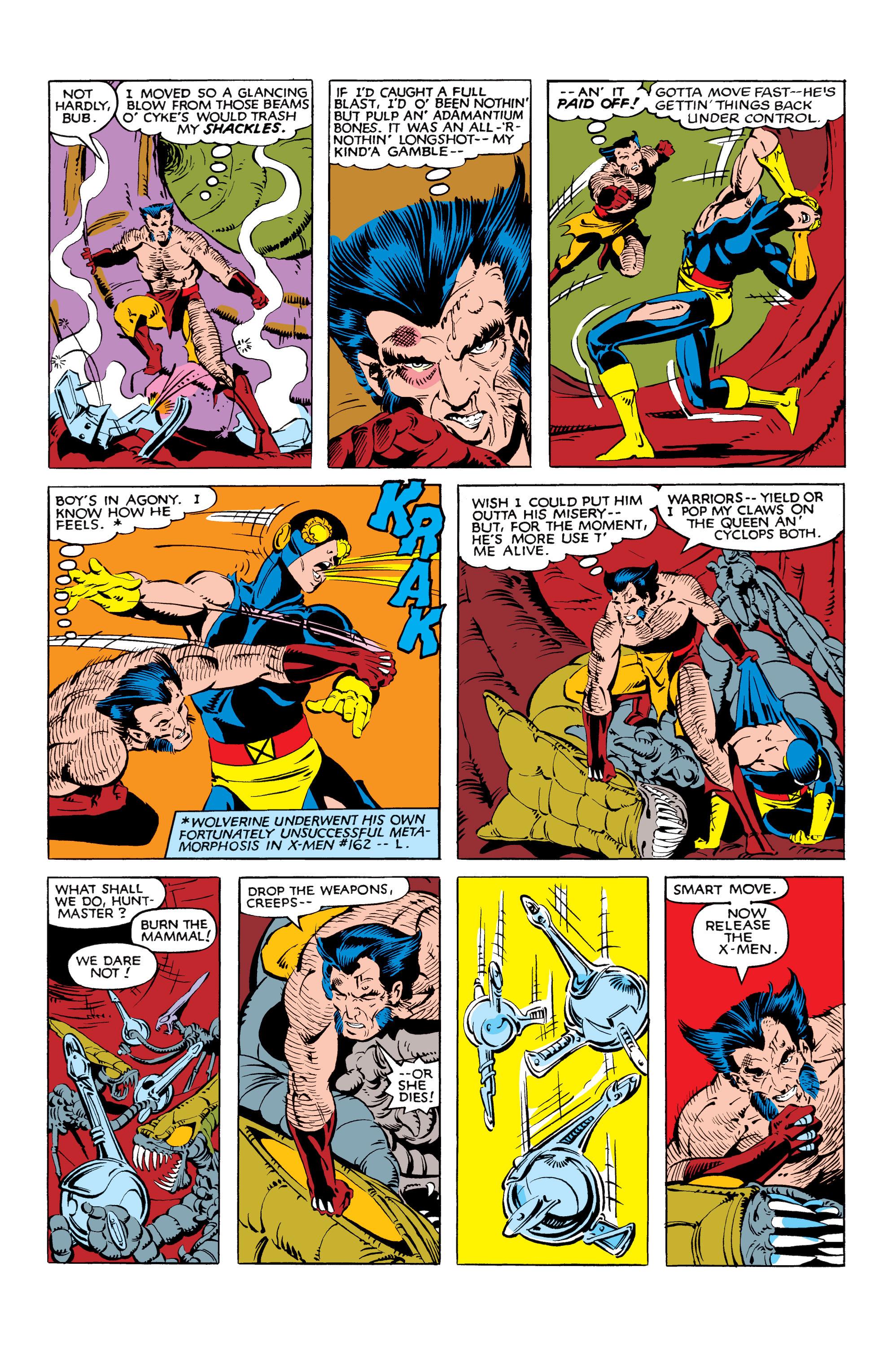 Read online Uncanny X-Men (1963) comic -  Issue #166 - 30