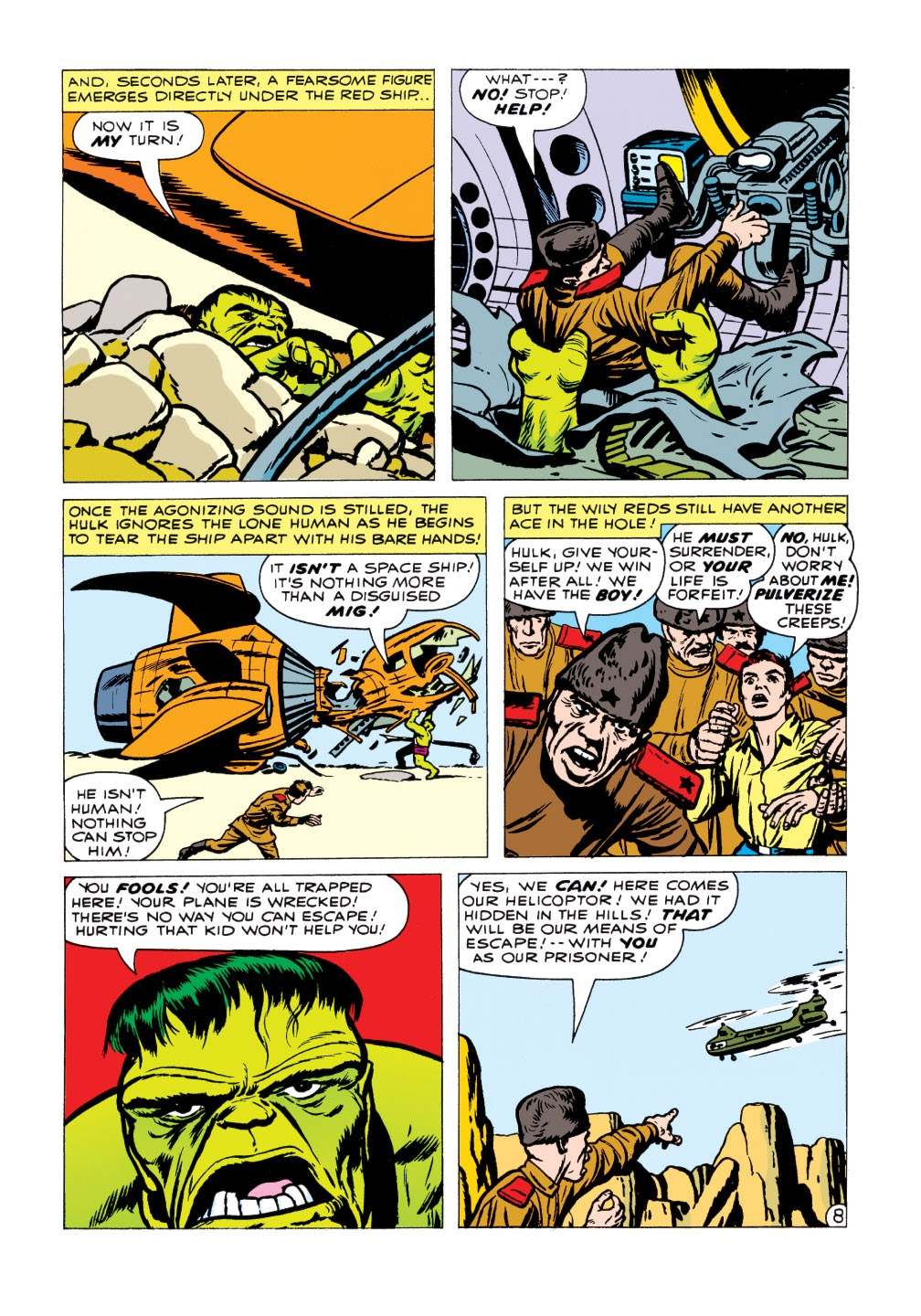 Read online Marvel Masterworks: The Incredible Hulk comic -  Issue # TPB 1 (Part 2) - 1