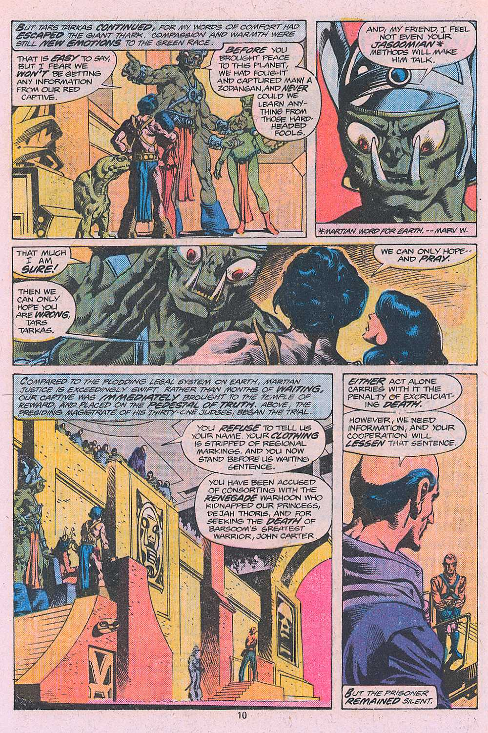 John Carter Warlord of Mars issue 2 - Page 12