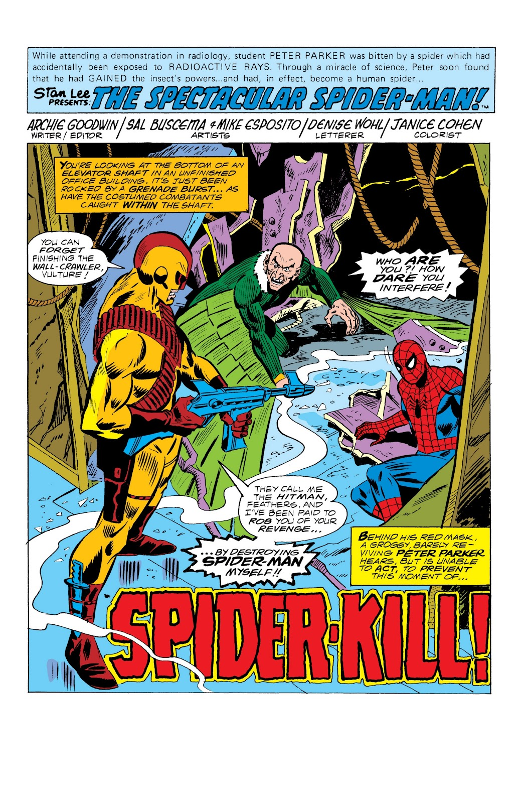 Read online Marvel Masterworks: The Spectacular Spider-Man comic -  Issue # TPB (Part 1) - 81