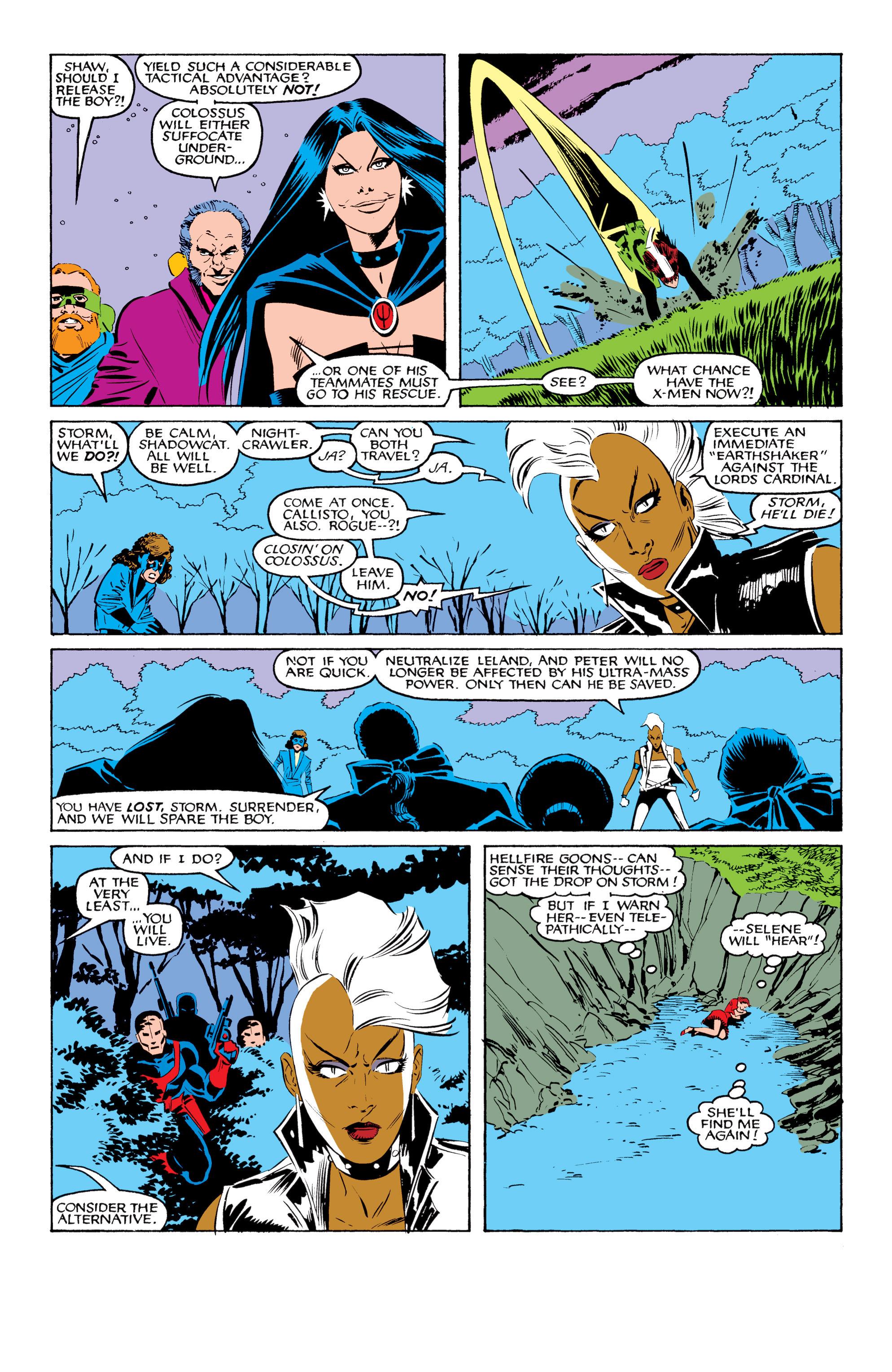 Read online Uncanny X-Men (1963) comic -  Issue #208 - 21
