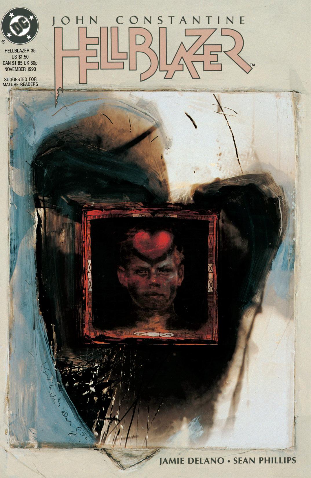Hellblazer issue 35 - Page 1