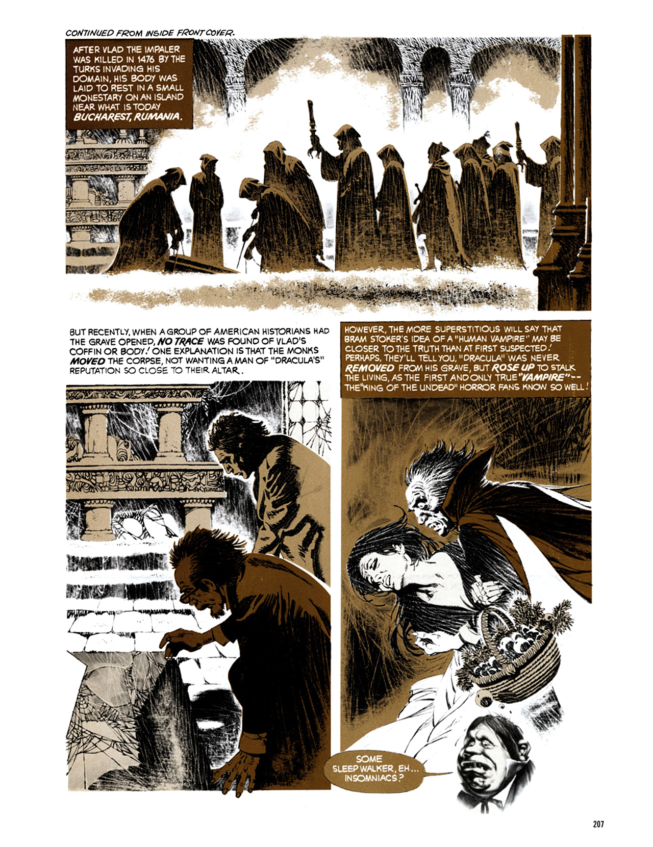 Read online Eerie Archives comic -  Issue # TPB 9 - 208