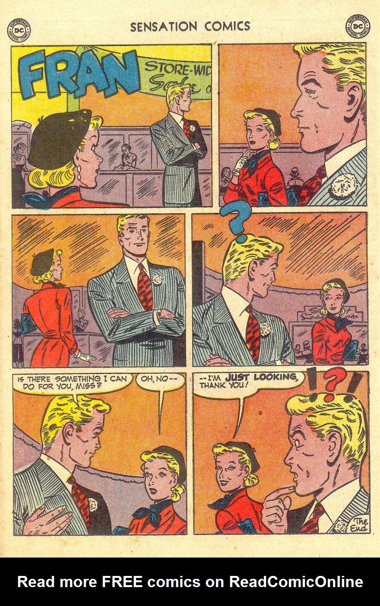 Read online Sensation (Mystery) Comics comic -  Issue #105 - 36