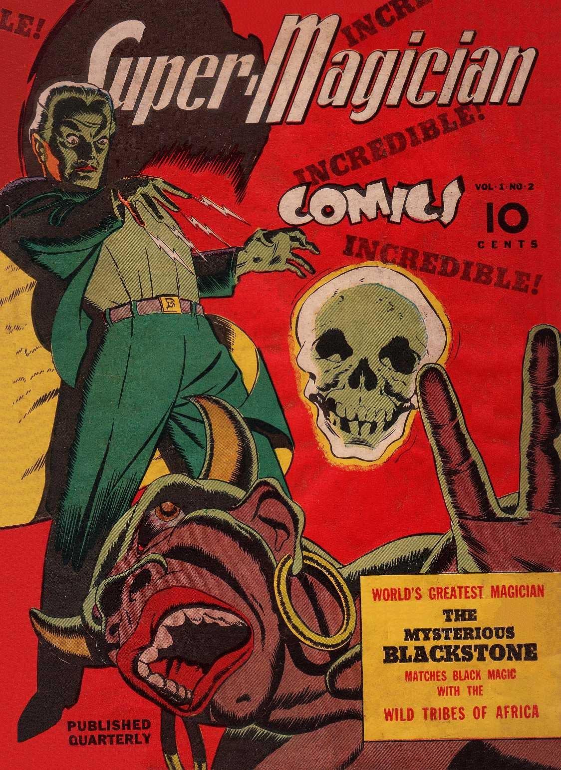 Read online Super-Magician Comics comic -  Issue #2 - 1