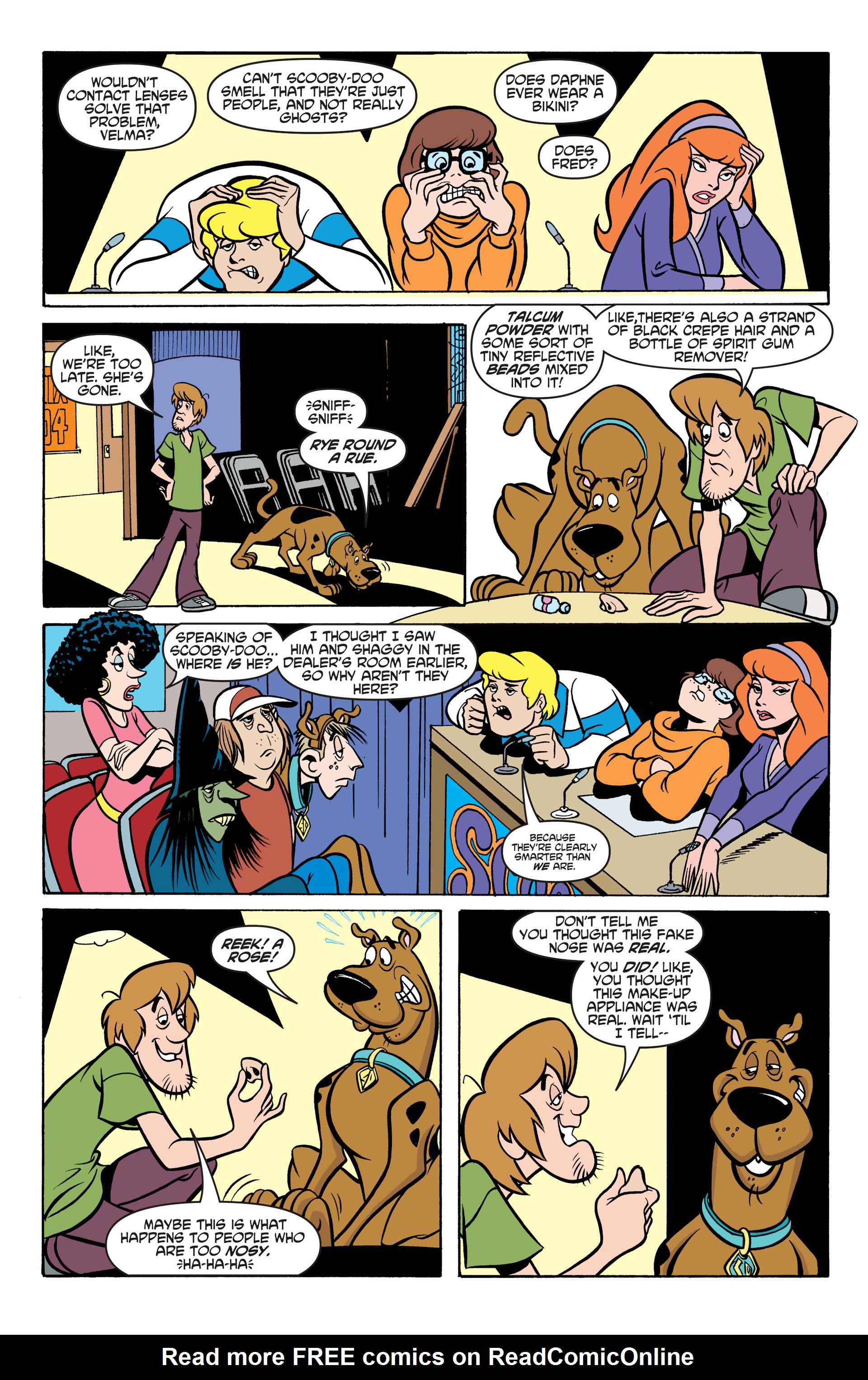 Read online Scooby-Doo: Where Are You? comic -  Issue #48 - 19