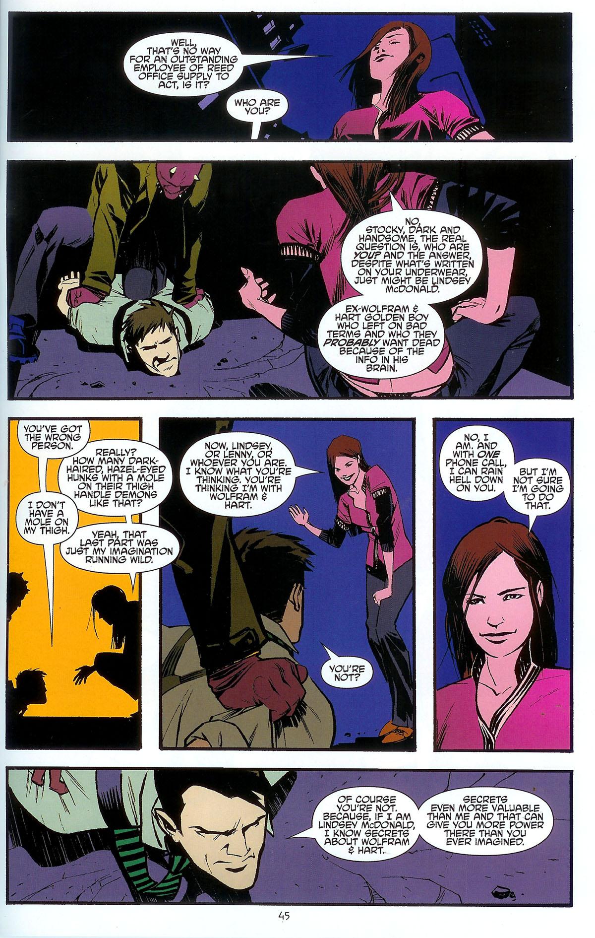 Read online Angel: Masks comic -  Issue # Full - 47