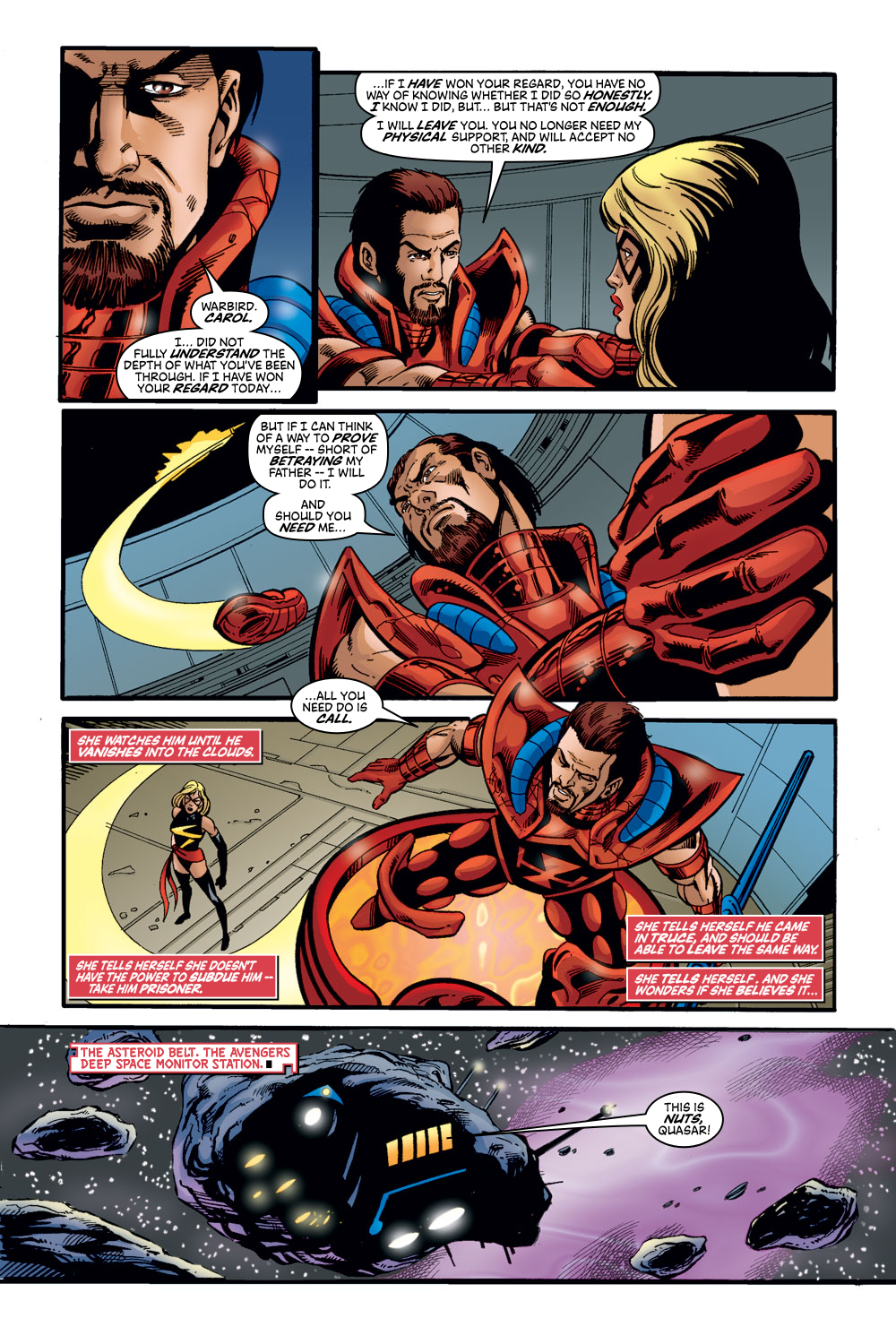 Read online Avengers (1998) comic -  Issue #47 - 22